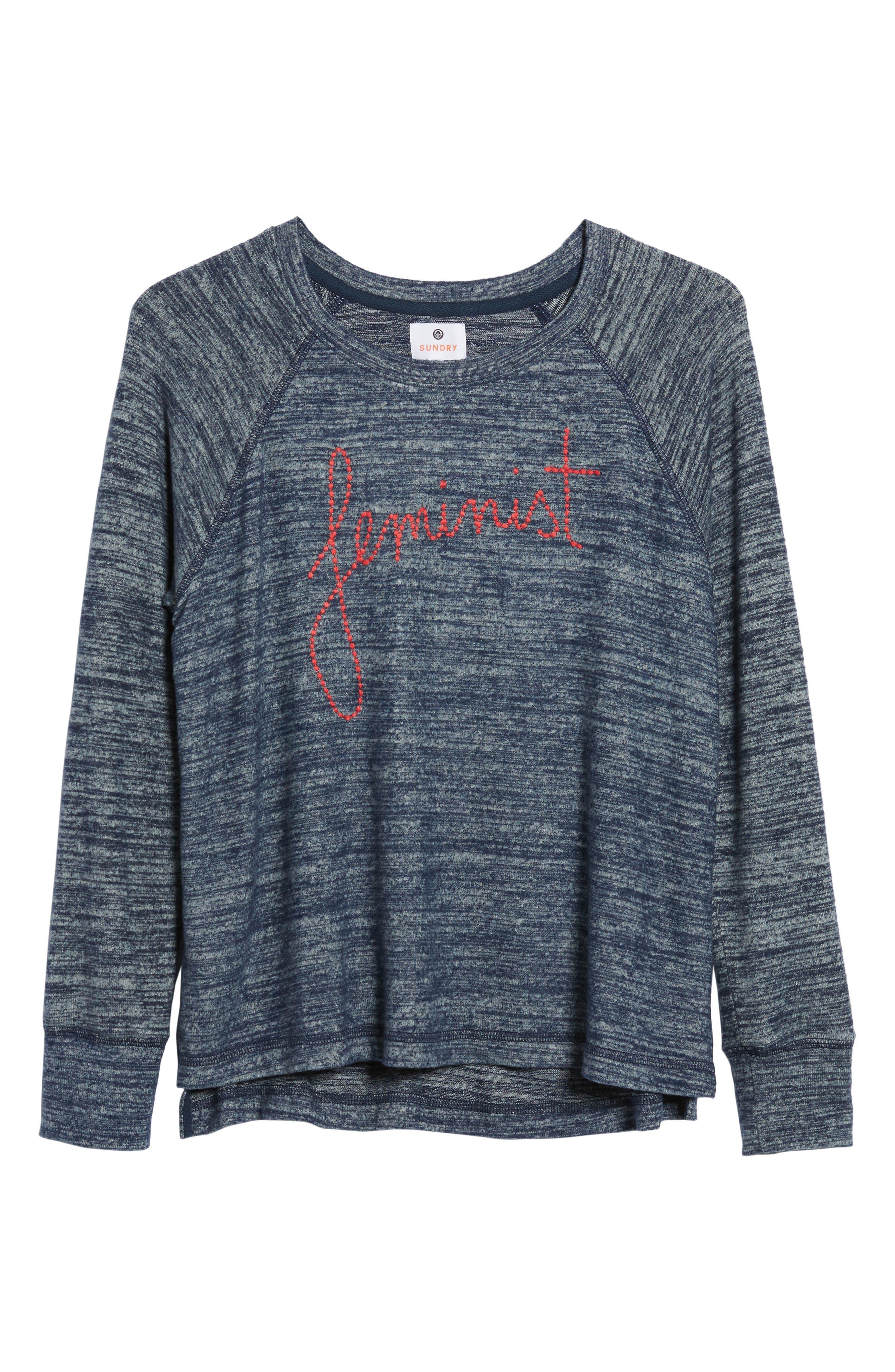 Feminist T-Shirt,                             Alternate thumbnail 6, color,                             421