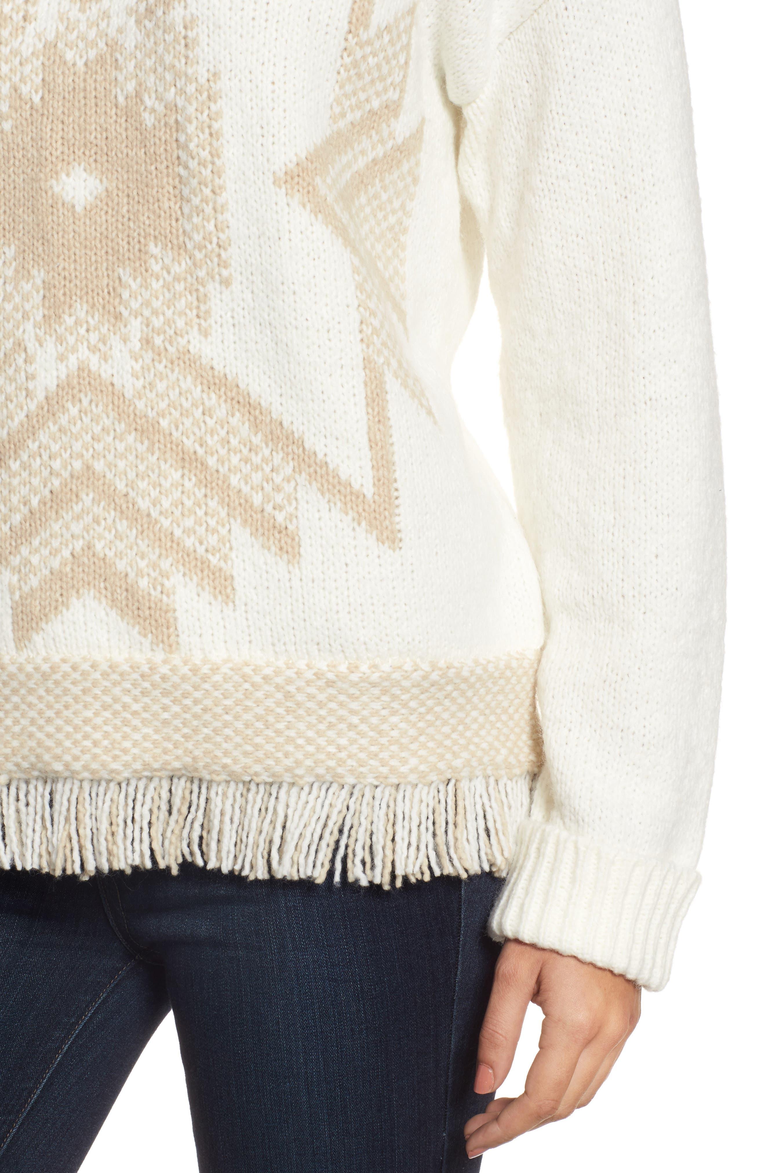 Fringe Sweater,                             Alternate thumbnail 16, color,