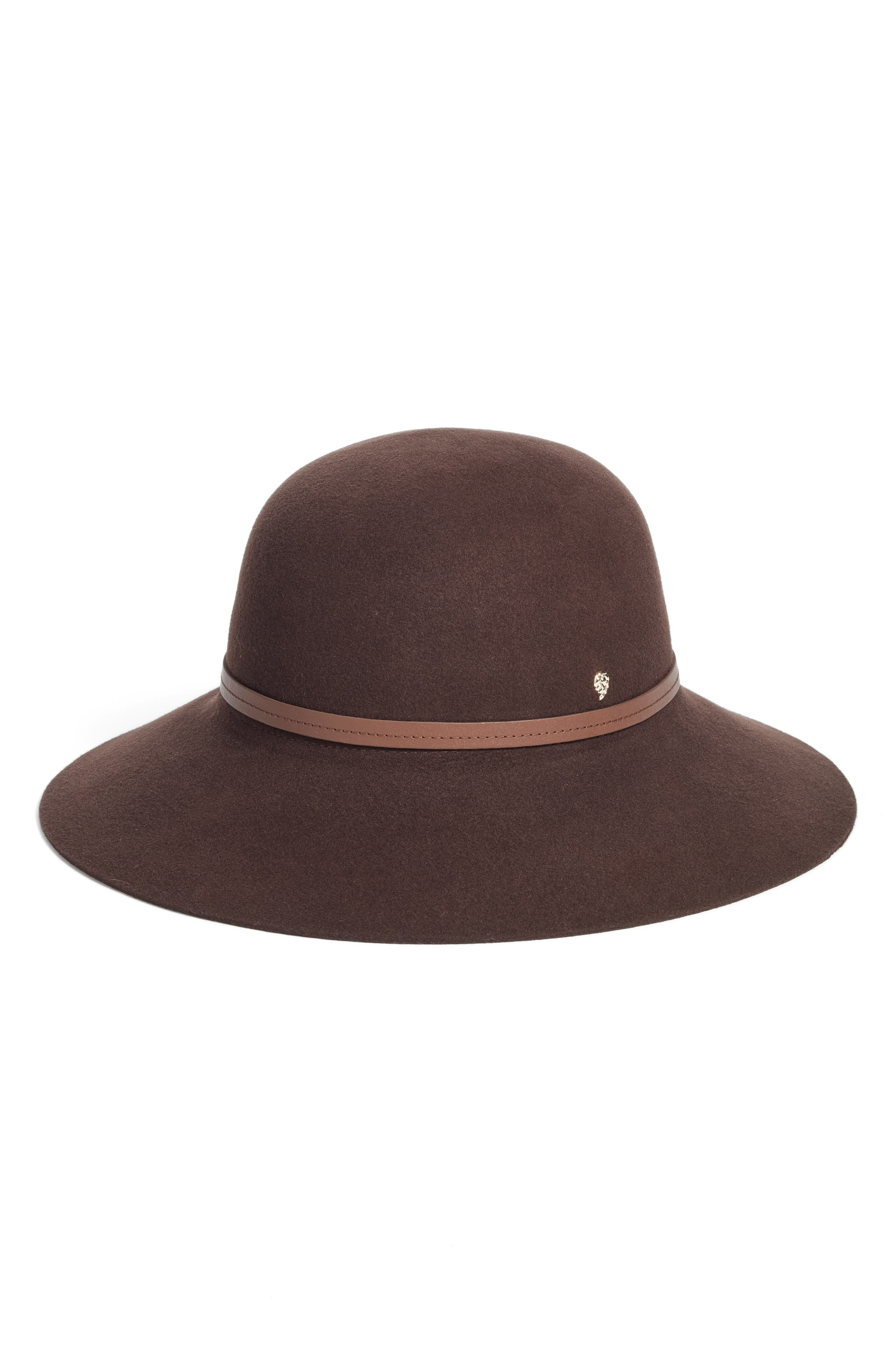 Angled Brim Wool Felt Hat,                             Main thumbnail 1, color,                             200