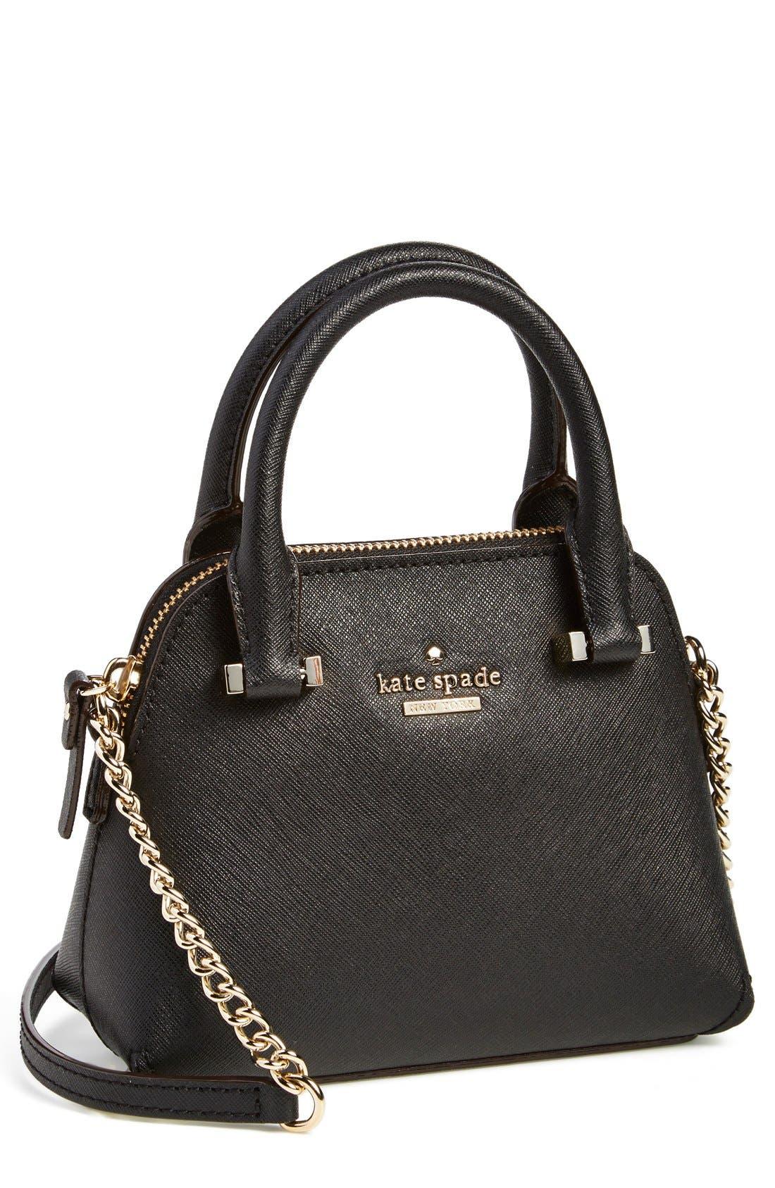 'cedar street - mini maise' crossbody bag,                         Main,                         color, 001