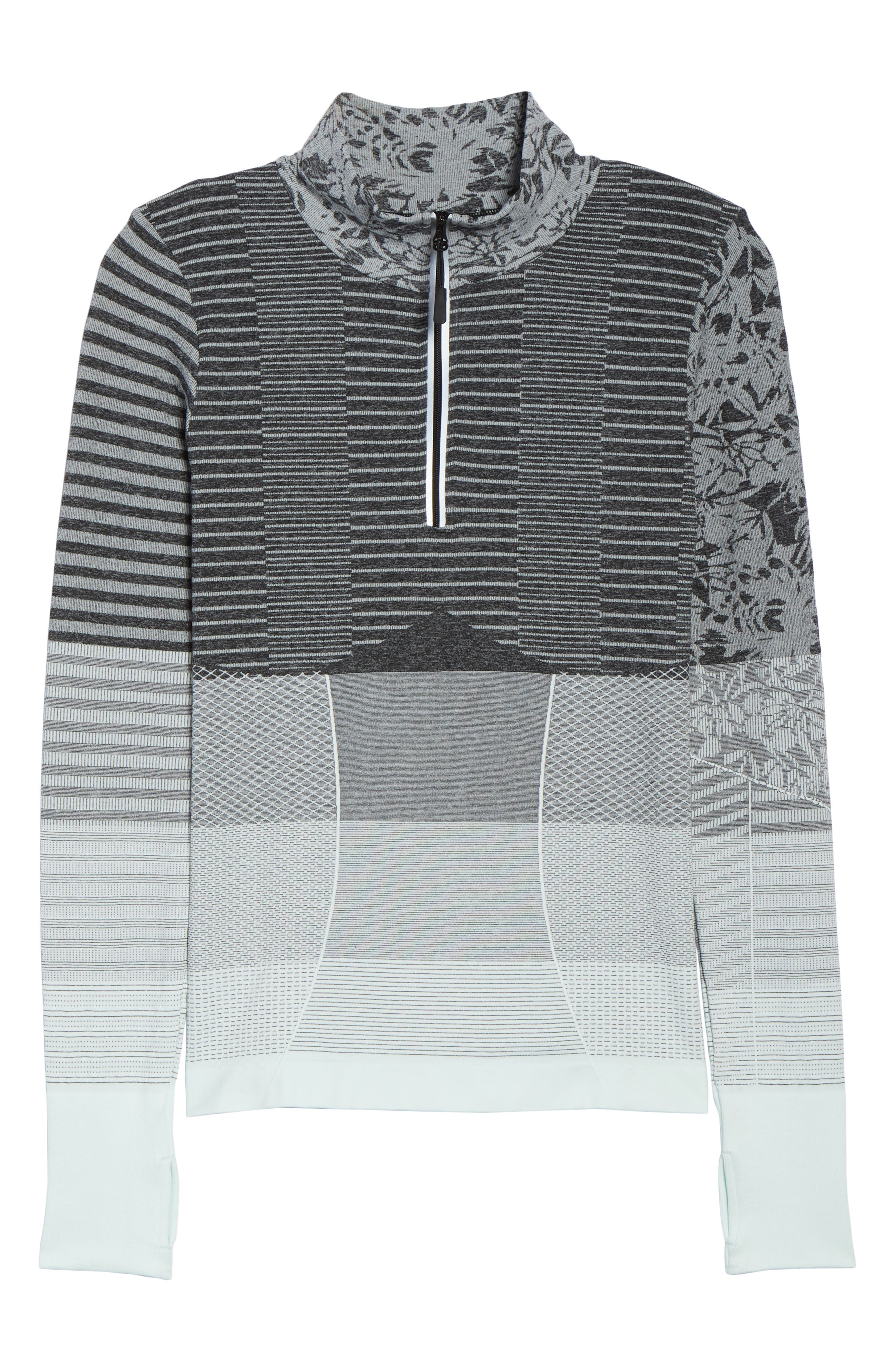 Vitality Quarter Zip Pullover,                             Alternate thumbnail 13, color,