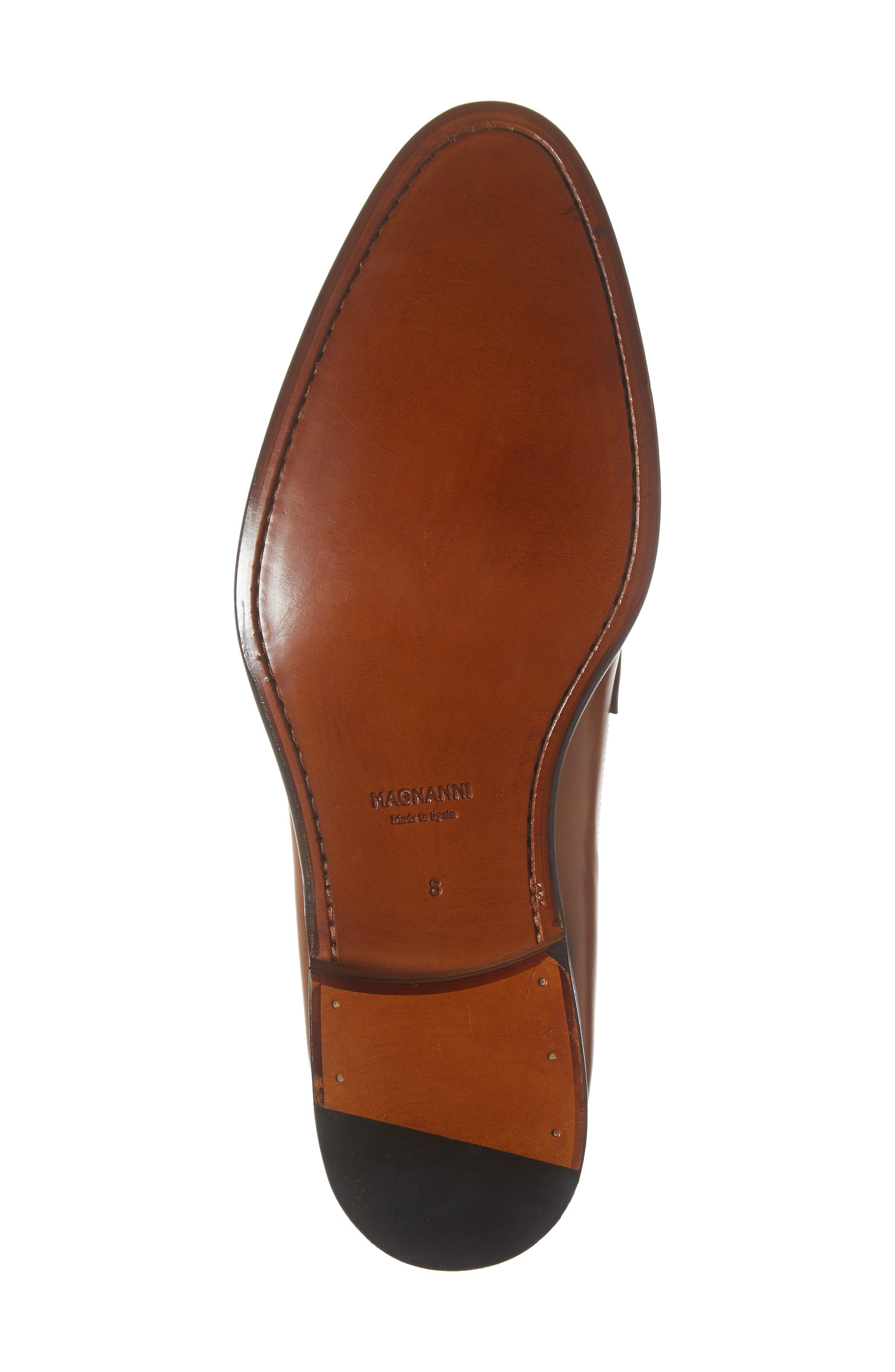 Valda Double Strap Cap Toe Monk Shoe,                             Alternate thumbnail 6, color,                             BROWN LEATHER