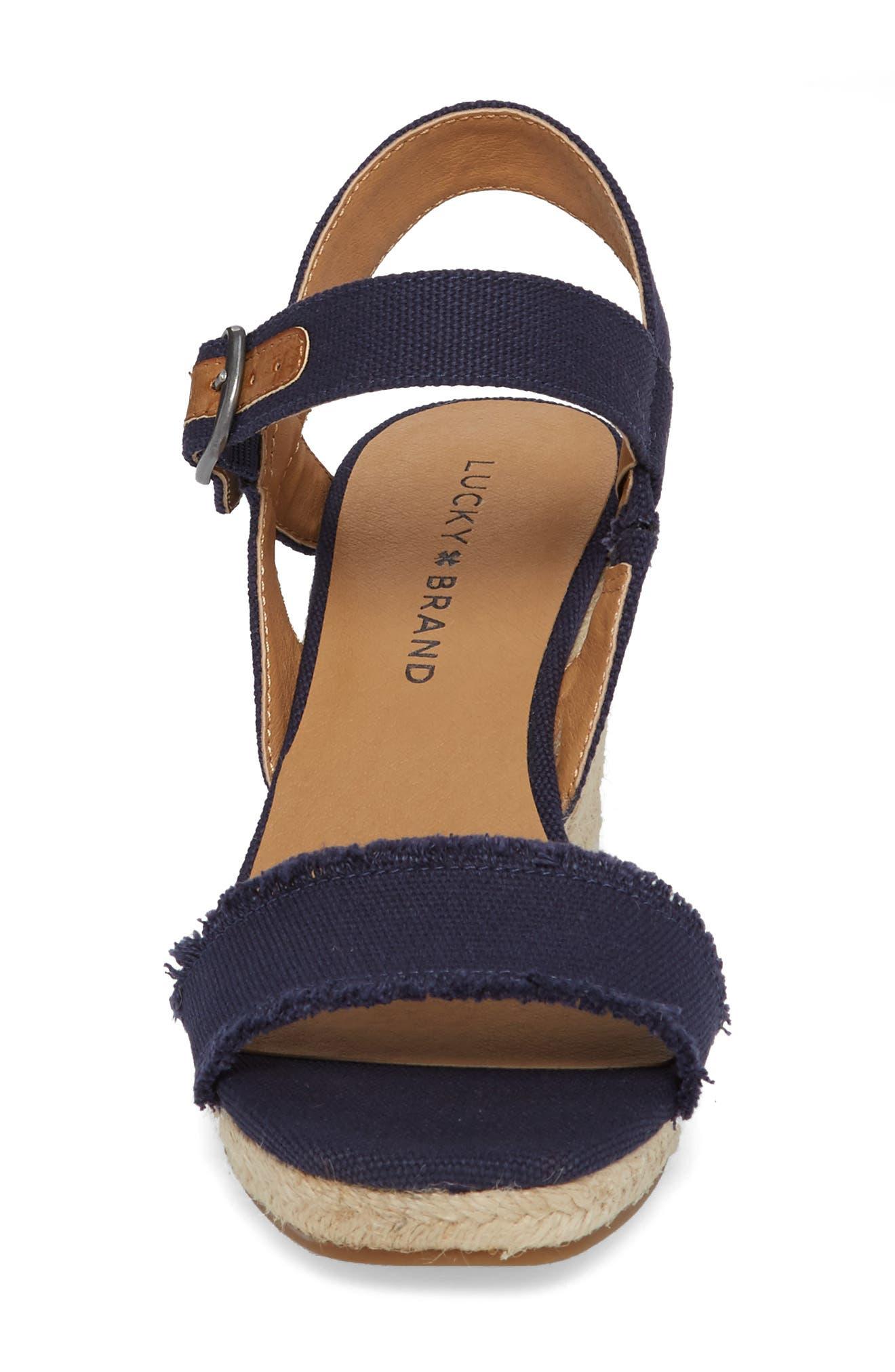 Marceline Squared Toe Wedge Sandal,                             Alternate thumbnail 25, color,