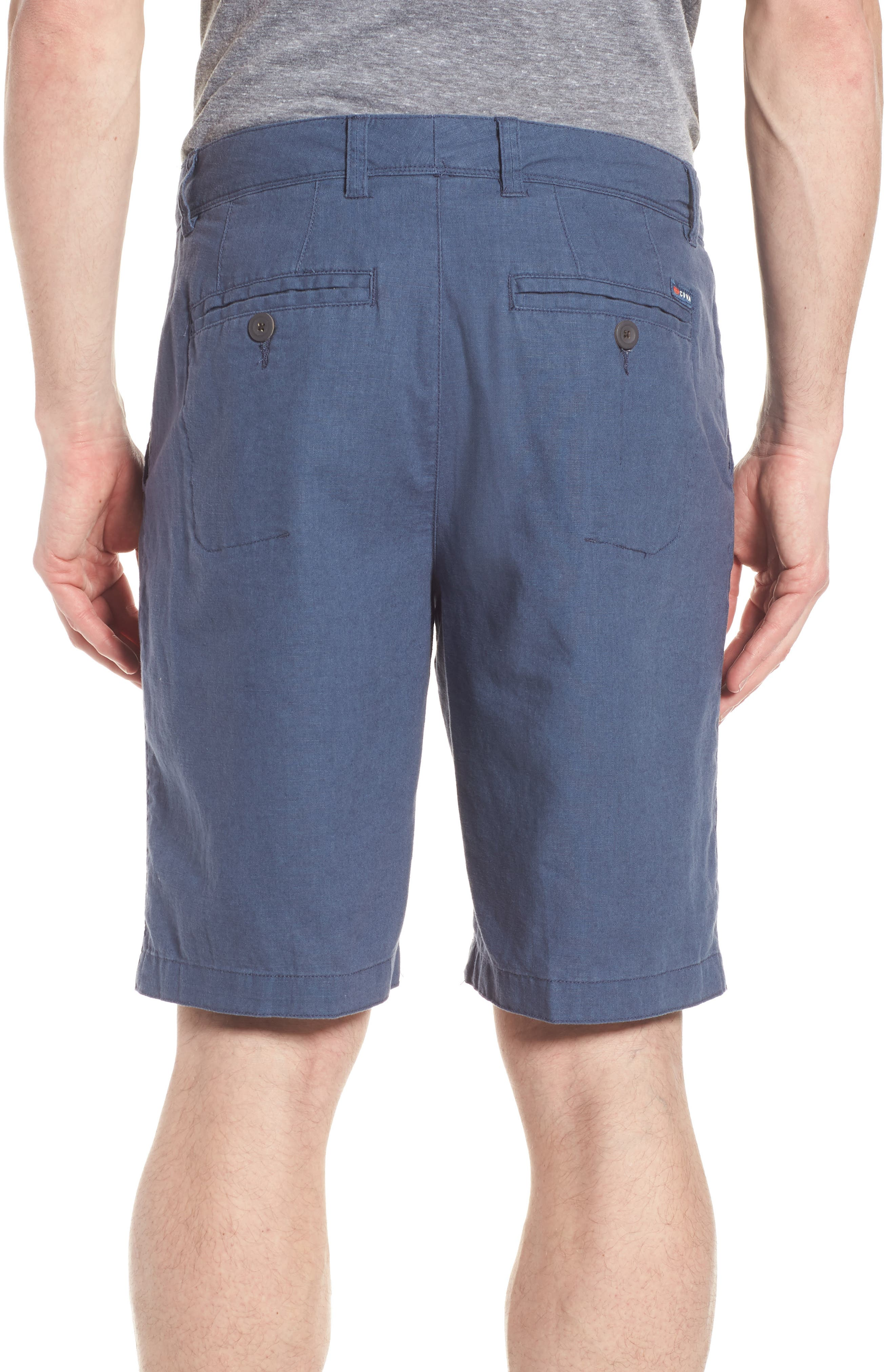 Islander Linen & Cotton Shorts,                             Alternate thumbnail 2, color,                             410
