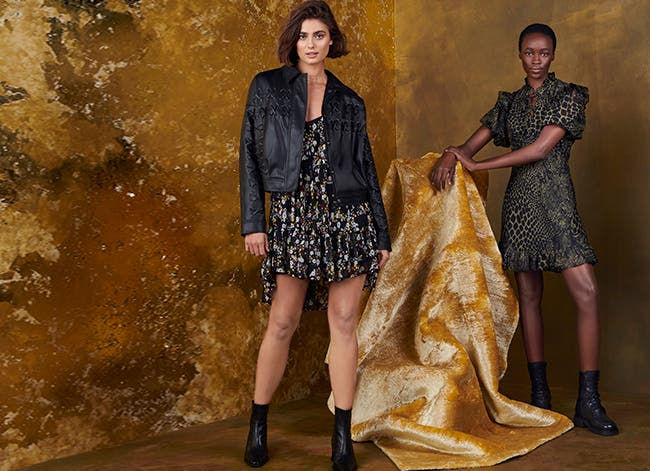 Topshop holiday 2020: women's clothing.