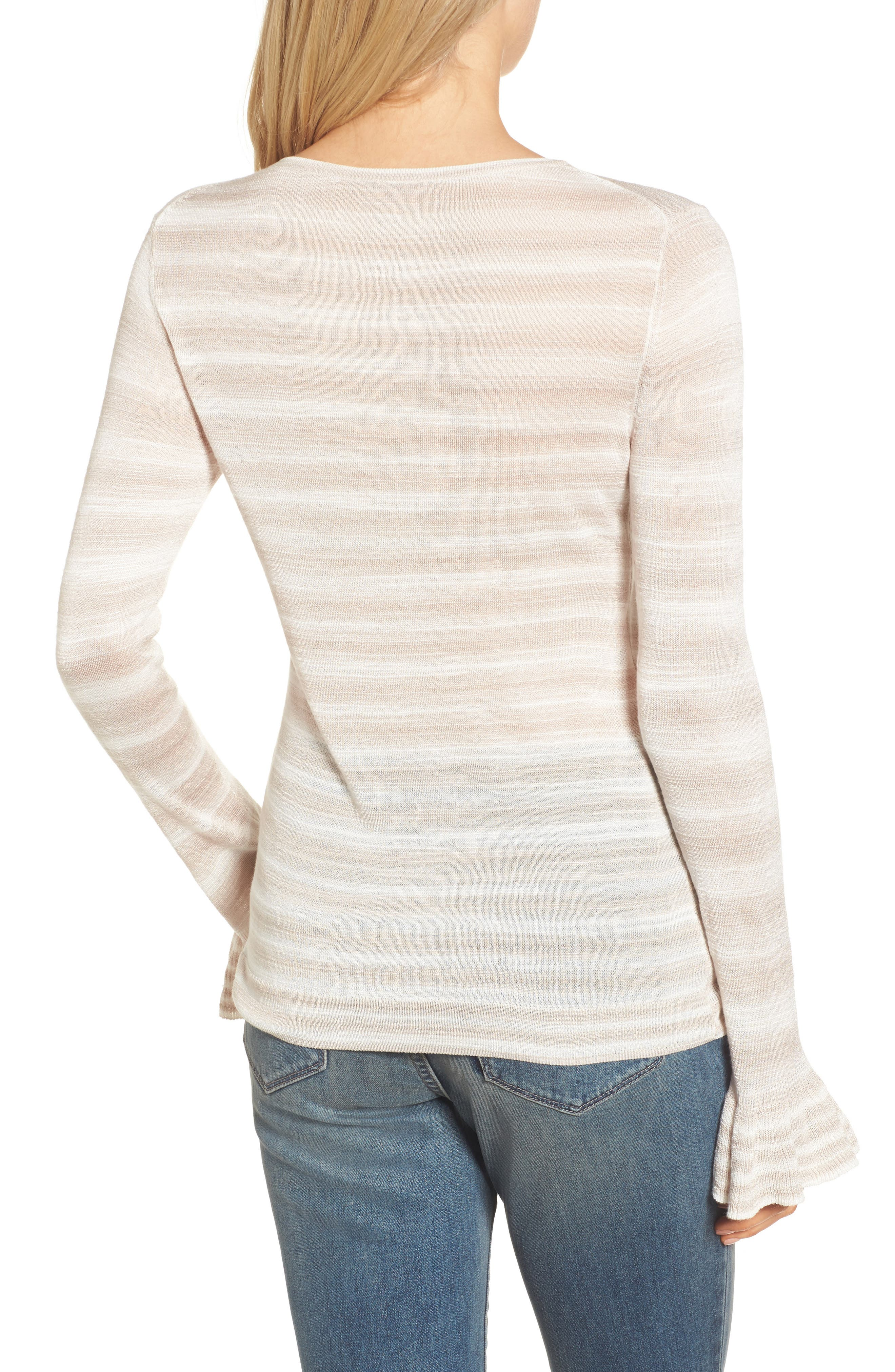 Gradient Stripe Sweater,                             Alternate thumbnail 2, color,                             250