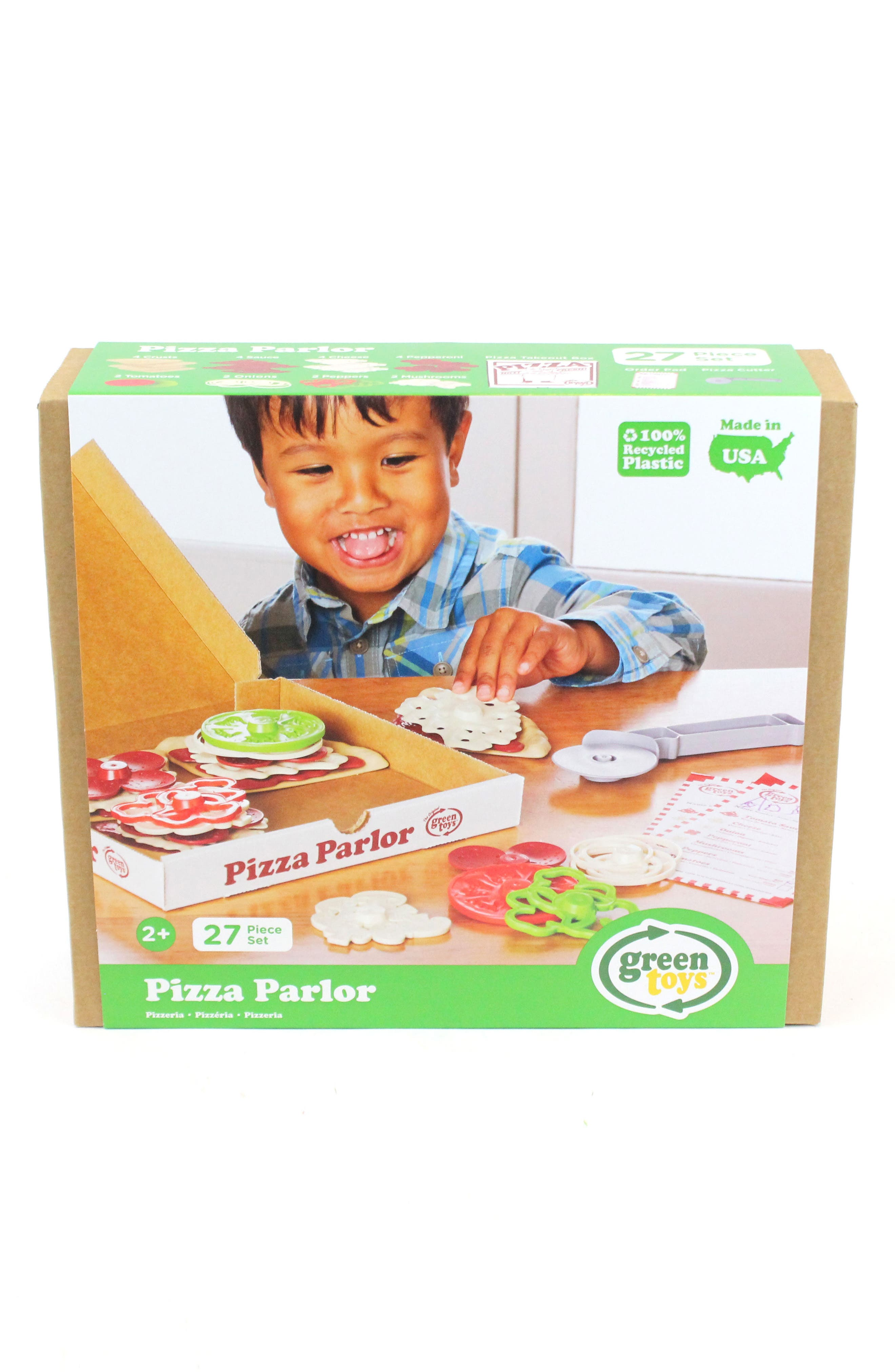 27-Piece Plastic Pizza Parlor Play Set,                         Main,                         color,