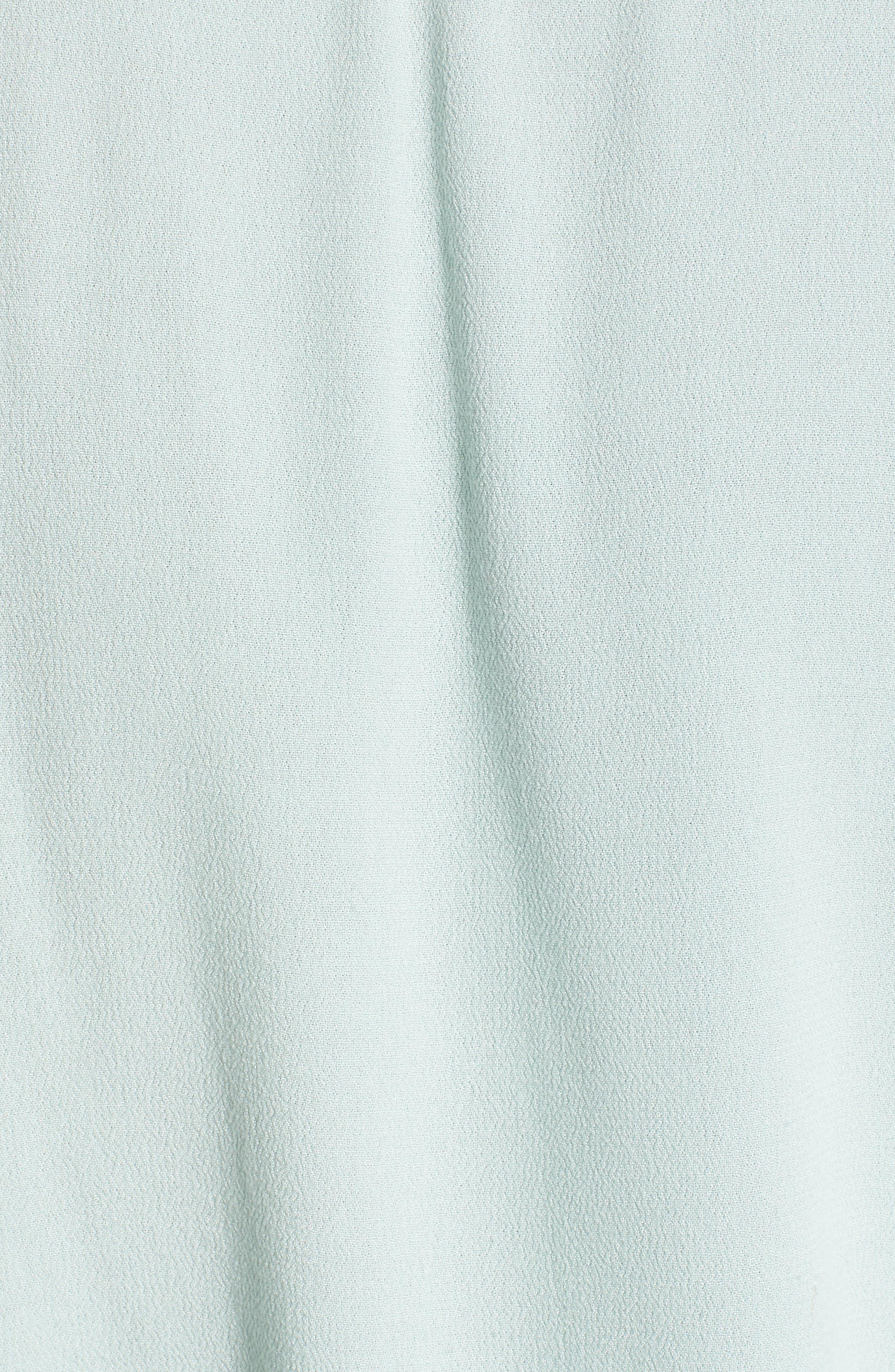 Crepe Button Front Shirt,                             Alternate thumbnail 6, color,                             300