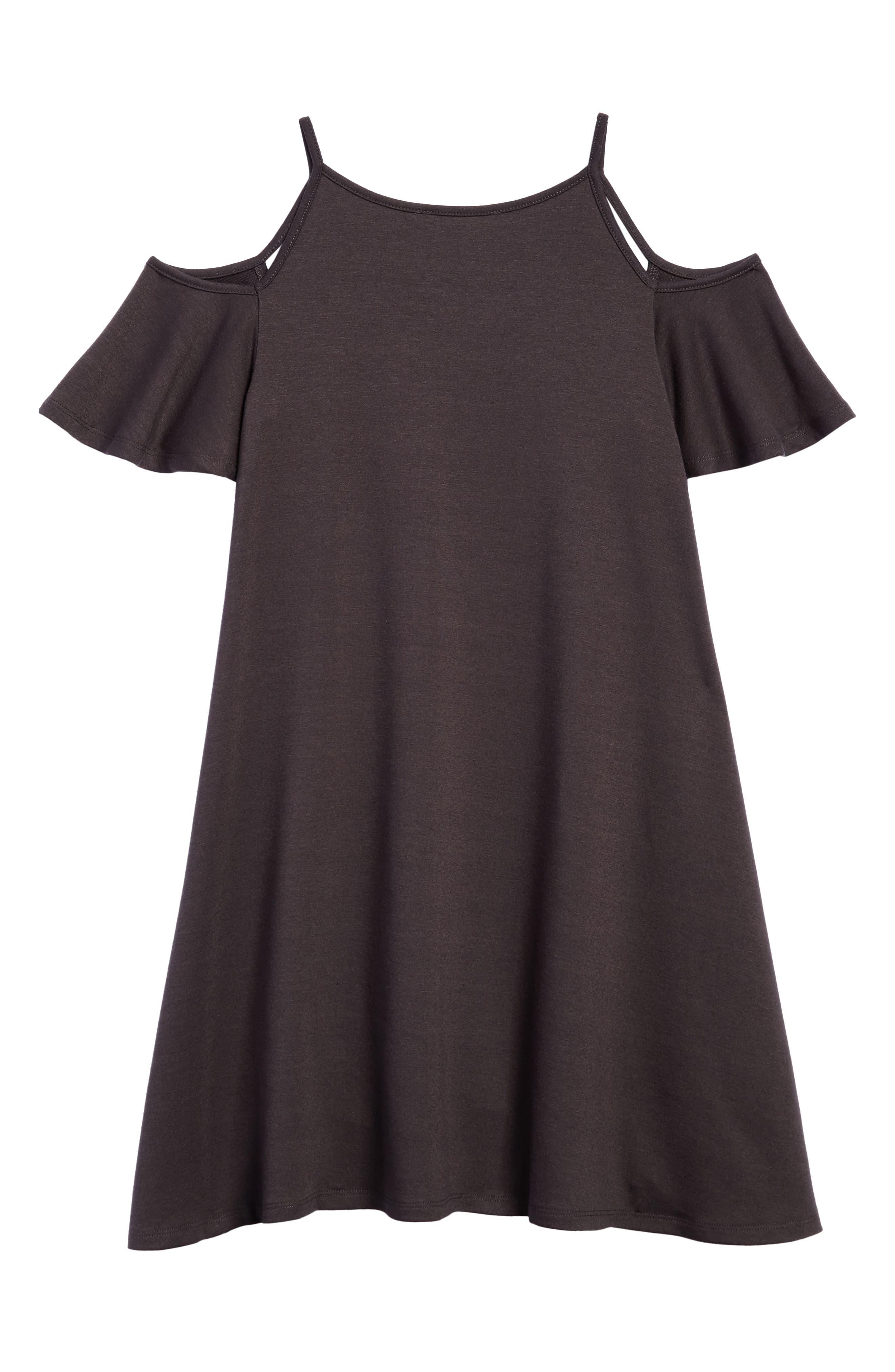 Cold Shoulder Dress,                             Alternate thumbnail 2, color,                             028