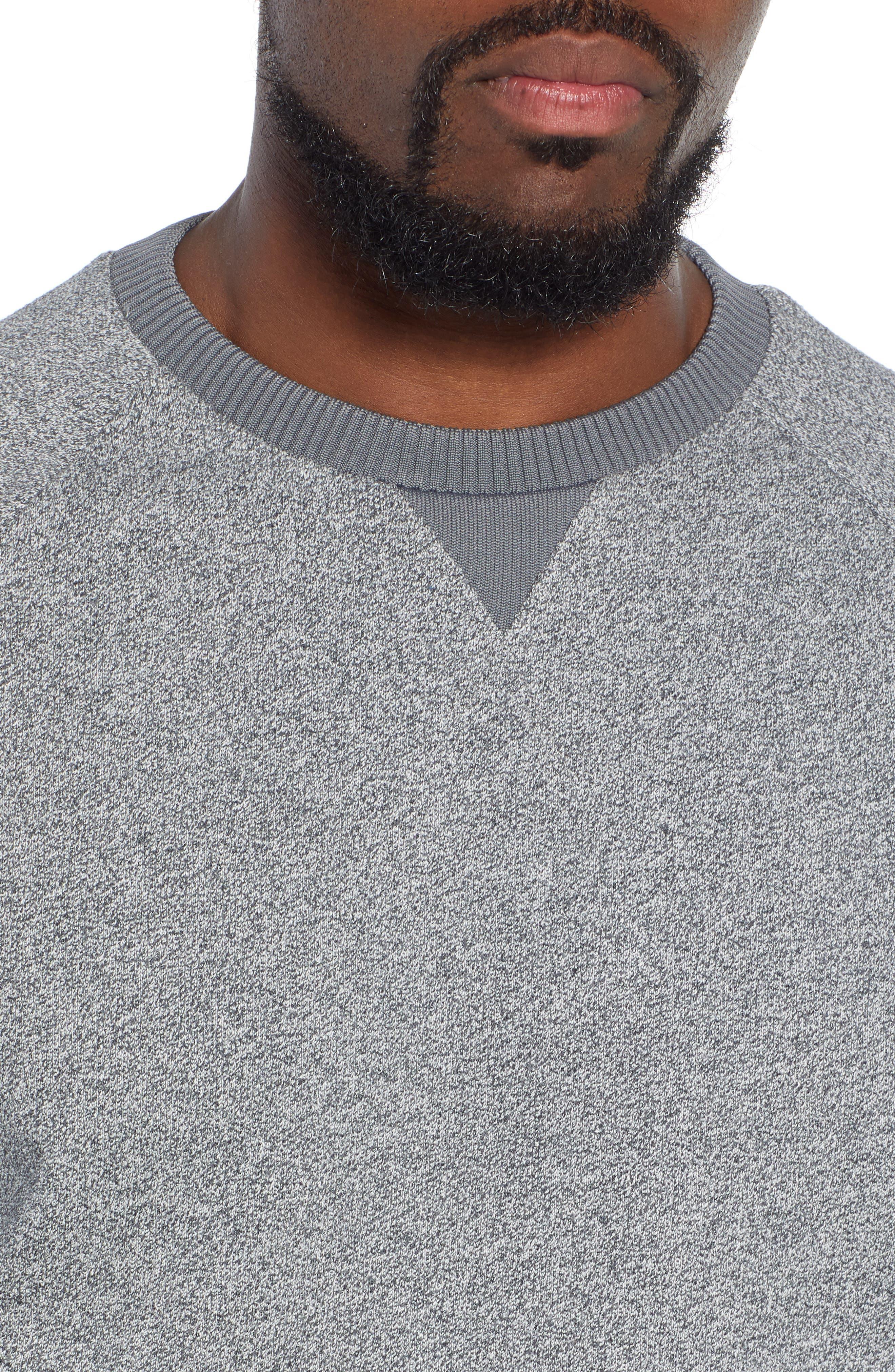 Stadler Denimic Regular Fit Sweatshirt,                             Alternate thumbnail 4, color,                             GREY
