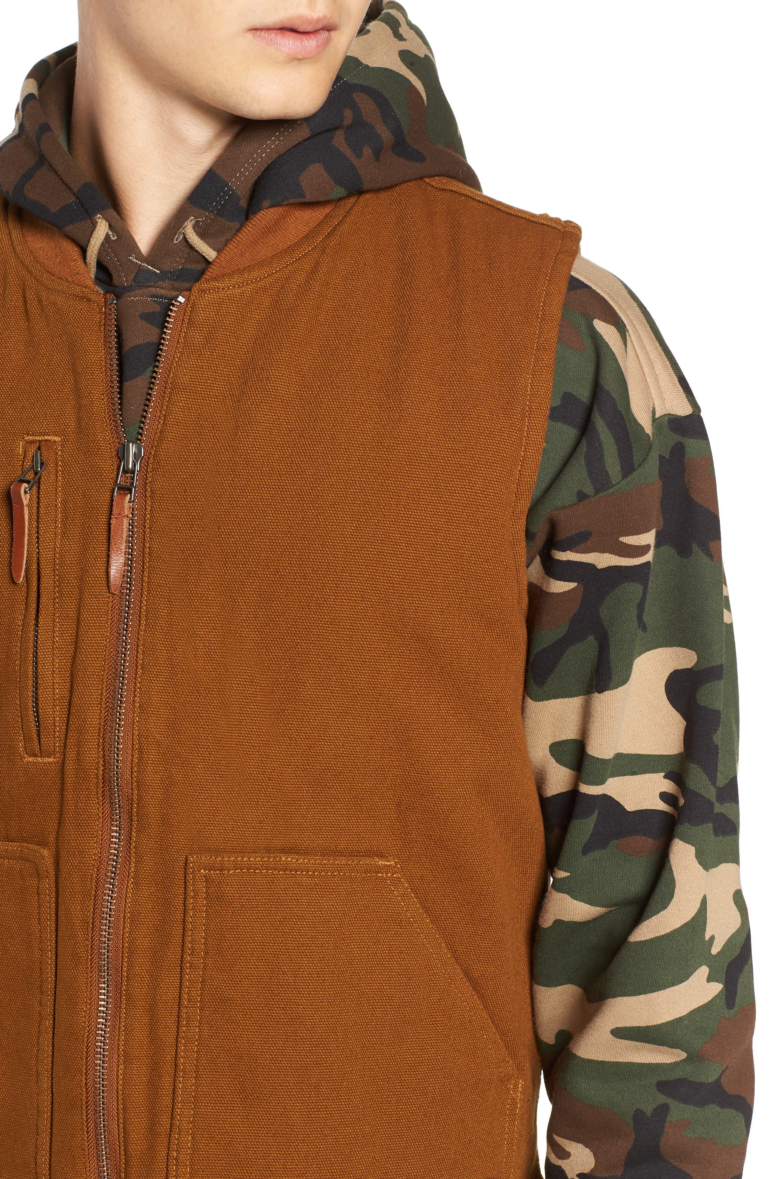 Abraham Water Resistant Vest,                             Alternate thumbnail 4, color,                             COPPER