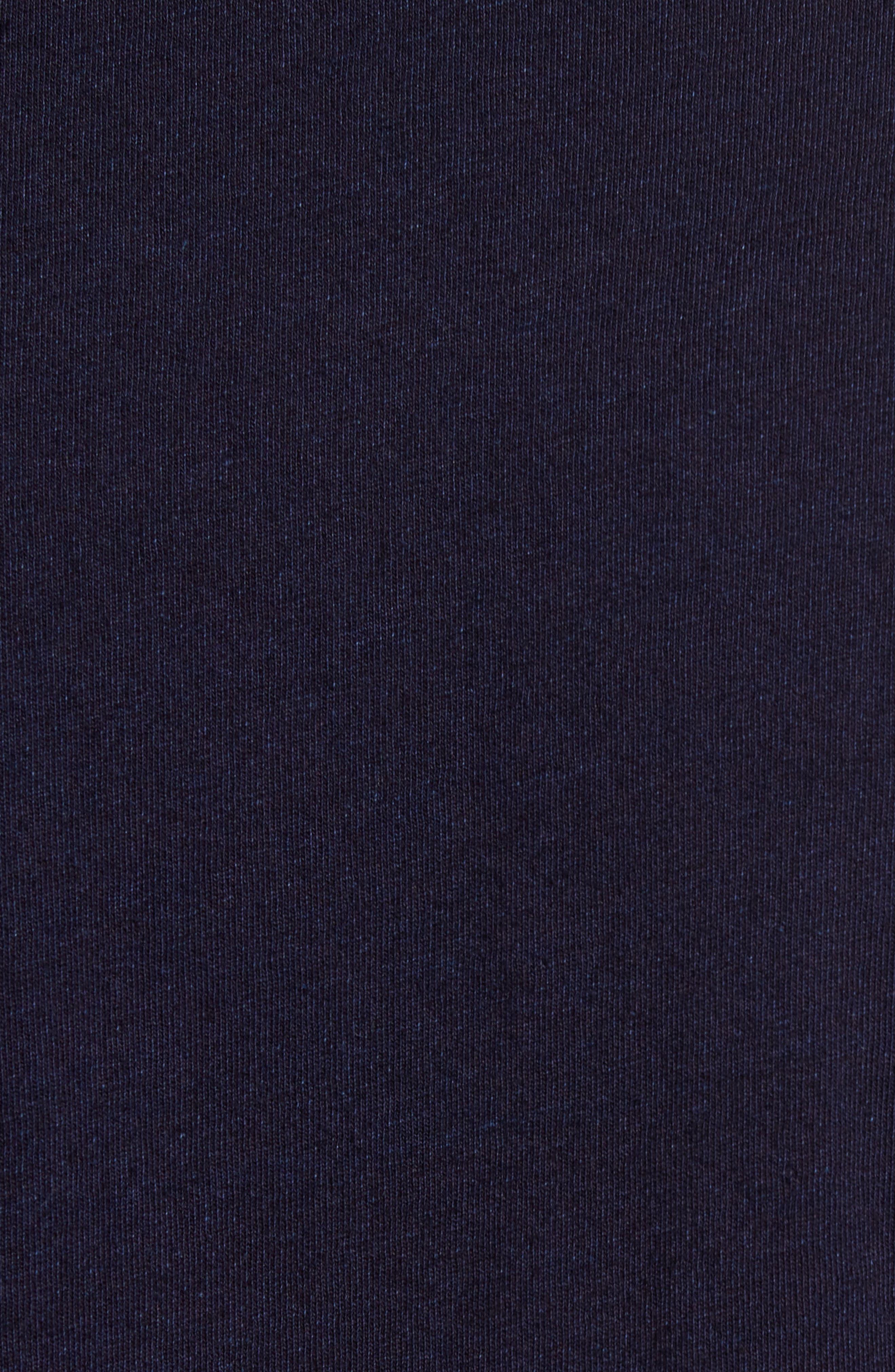 Regular Fit Chambray Trim Jersey Shirt,                             Alternate thumbnail 5, color,                             439
