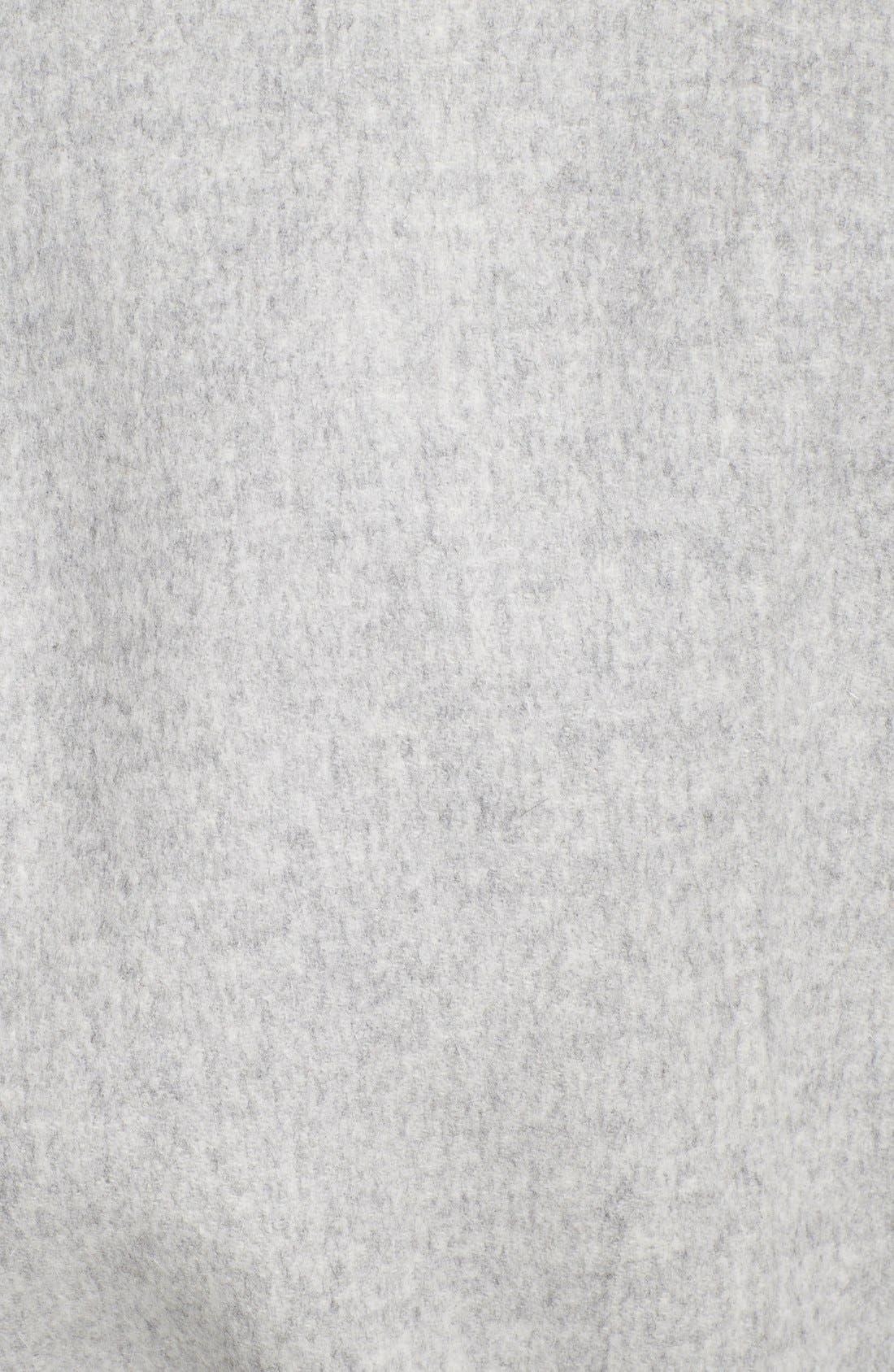 'Visone' Reversible Wool & Angora Wrap Coat with Belt,                             Alternate thumbnail 2, color,                             054