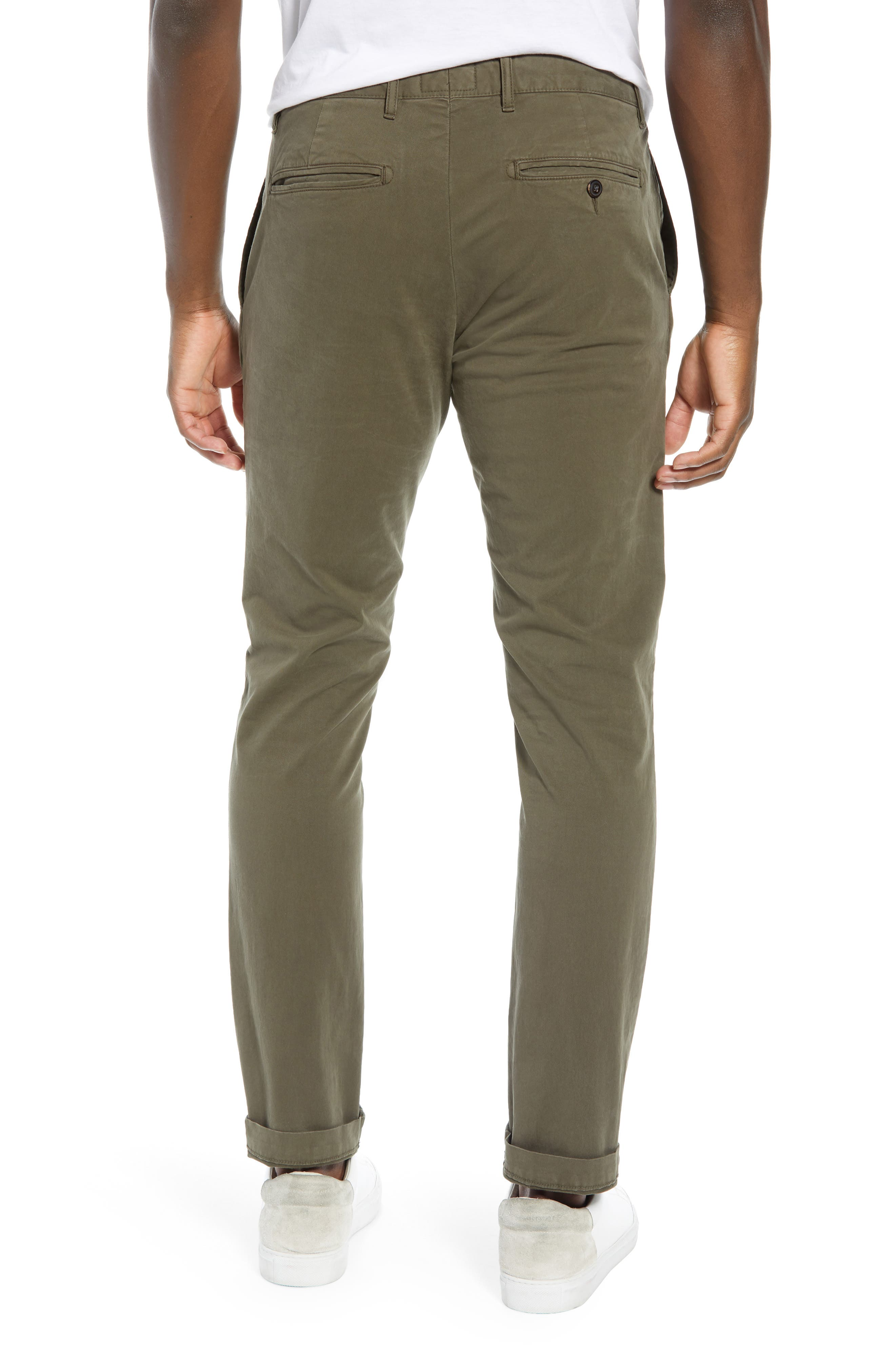 Stretch Twill Chino Pants,                             Alternate thumbnail 2, color,                             340