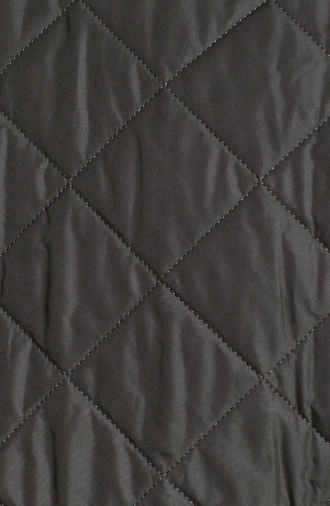 Lowerdale Quilted Vest,                             Alternate thumbnail 2, color,                             DARK GREEN