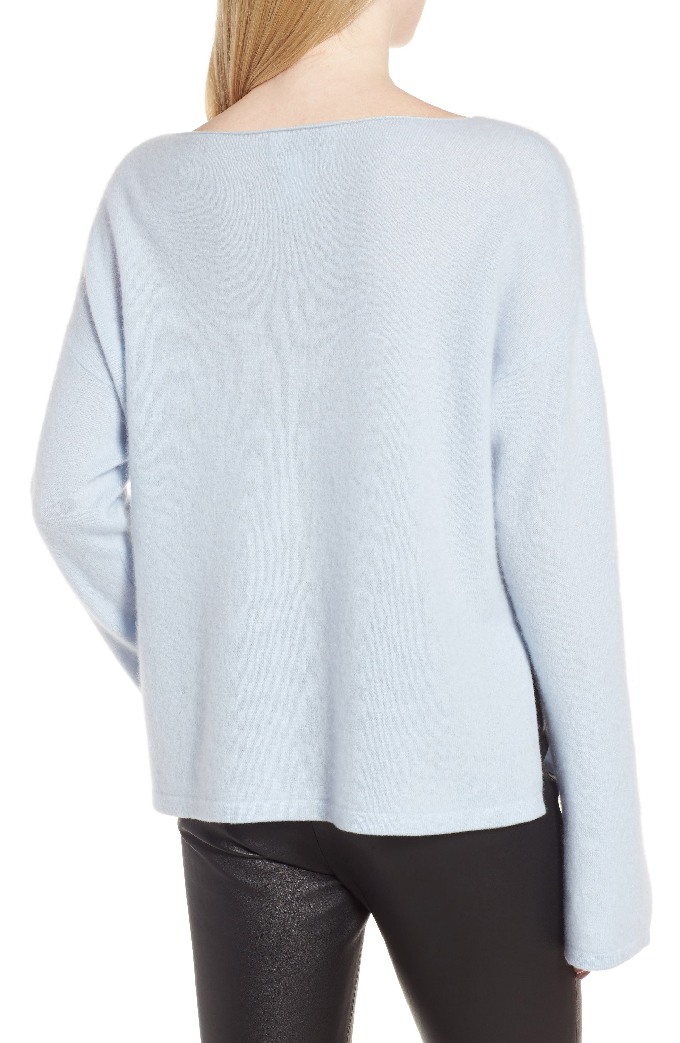 Boiled Cashmere Pullover,                             Alternate thumbnail 2, color,                             450