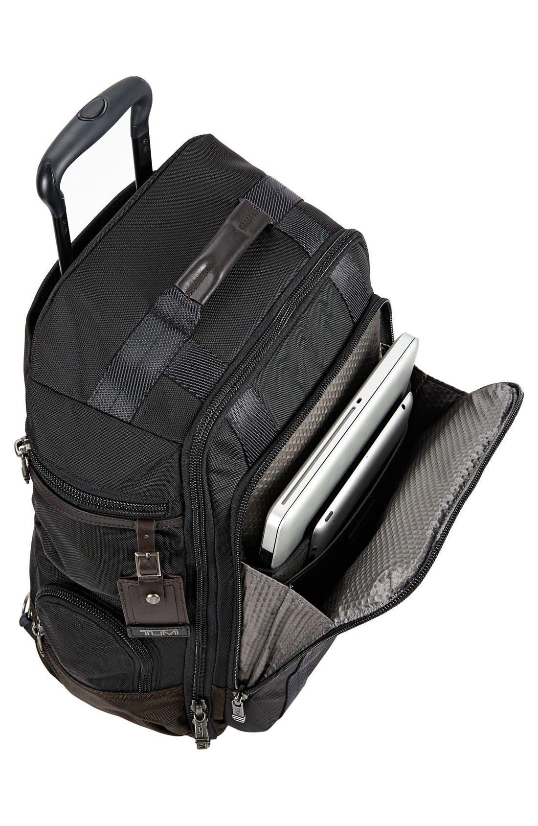 'Alpha Bravo – Peterson' Wheeled Backpack,                             Alternate thumbnail 5, color,                             001