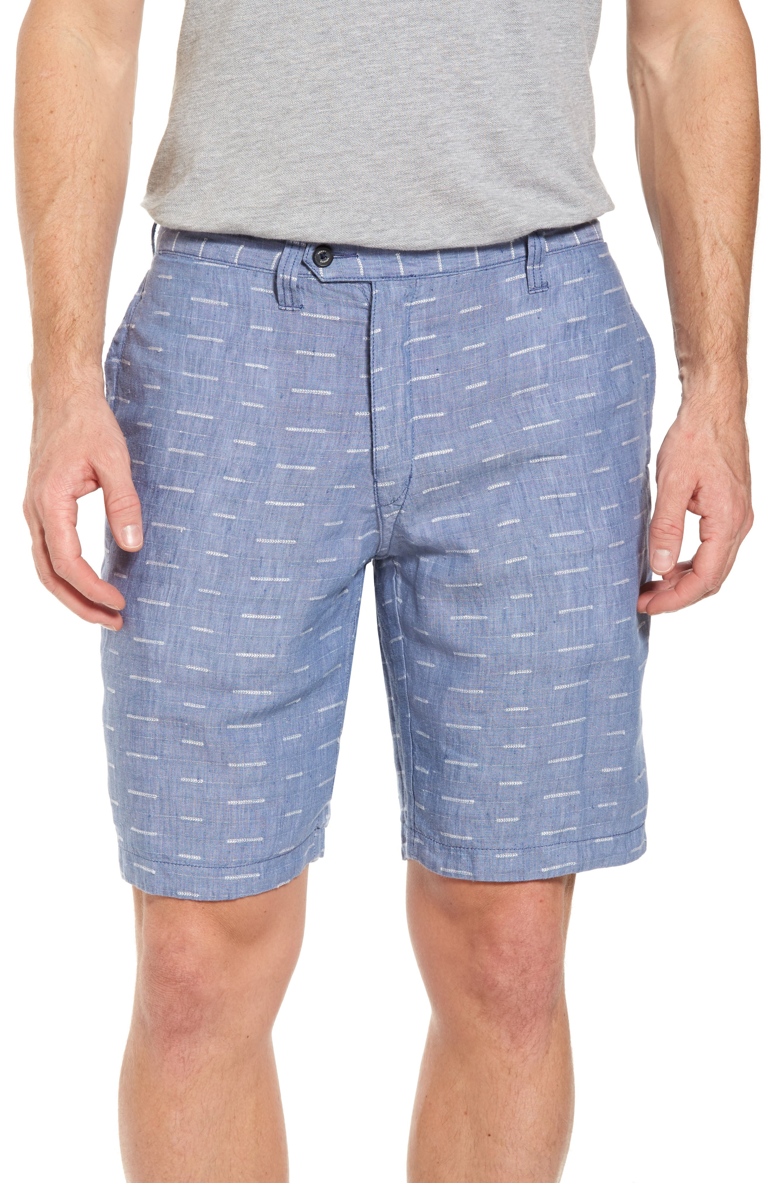 Plaid De Leon Reversible Shorts,                             Alternate thumbnail 4, color,