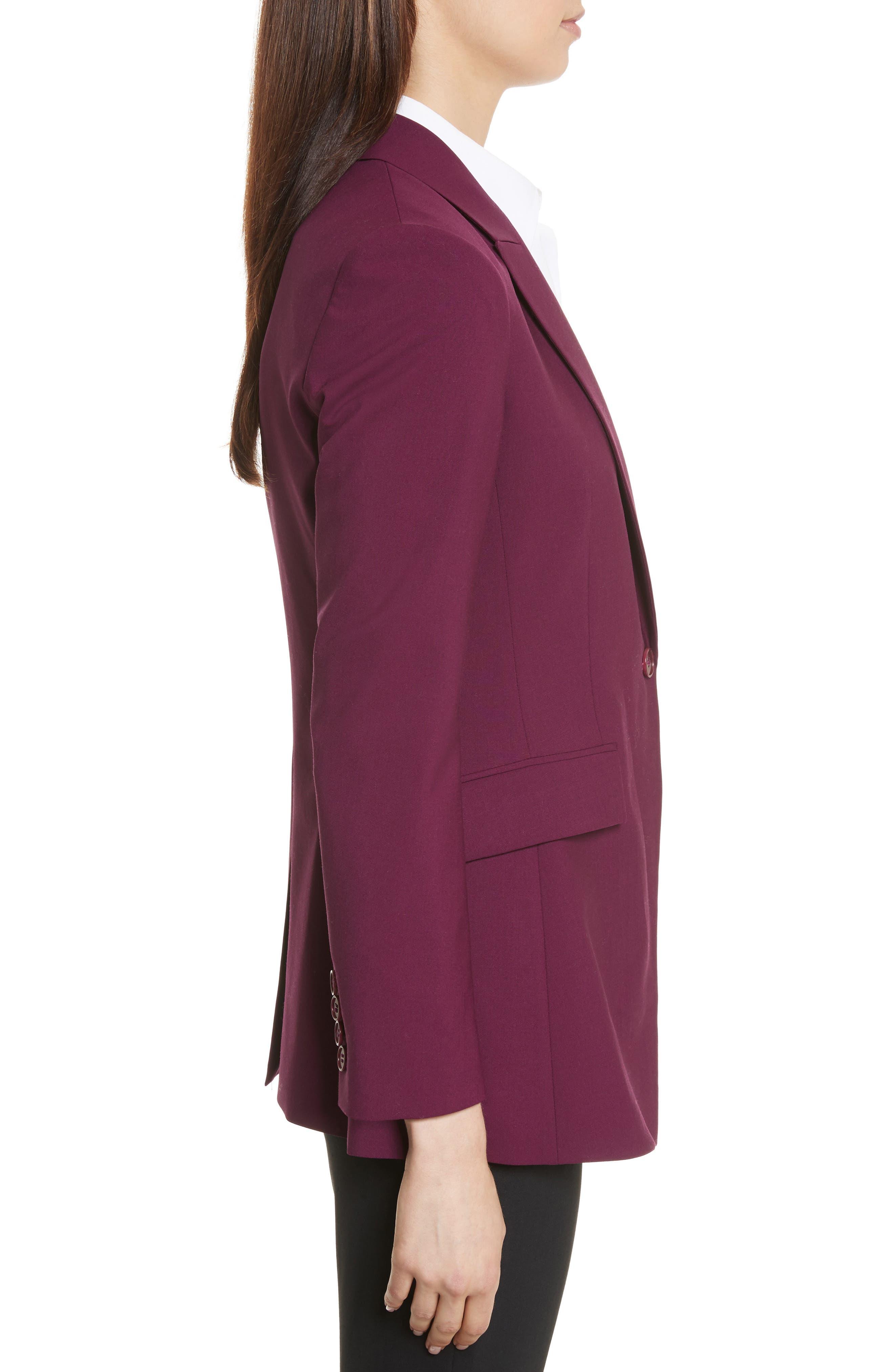Etienette B Good Wool Suit Jacket,                             Alternate thumbnail 21, color,