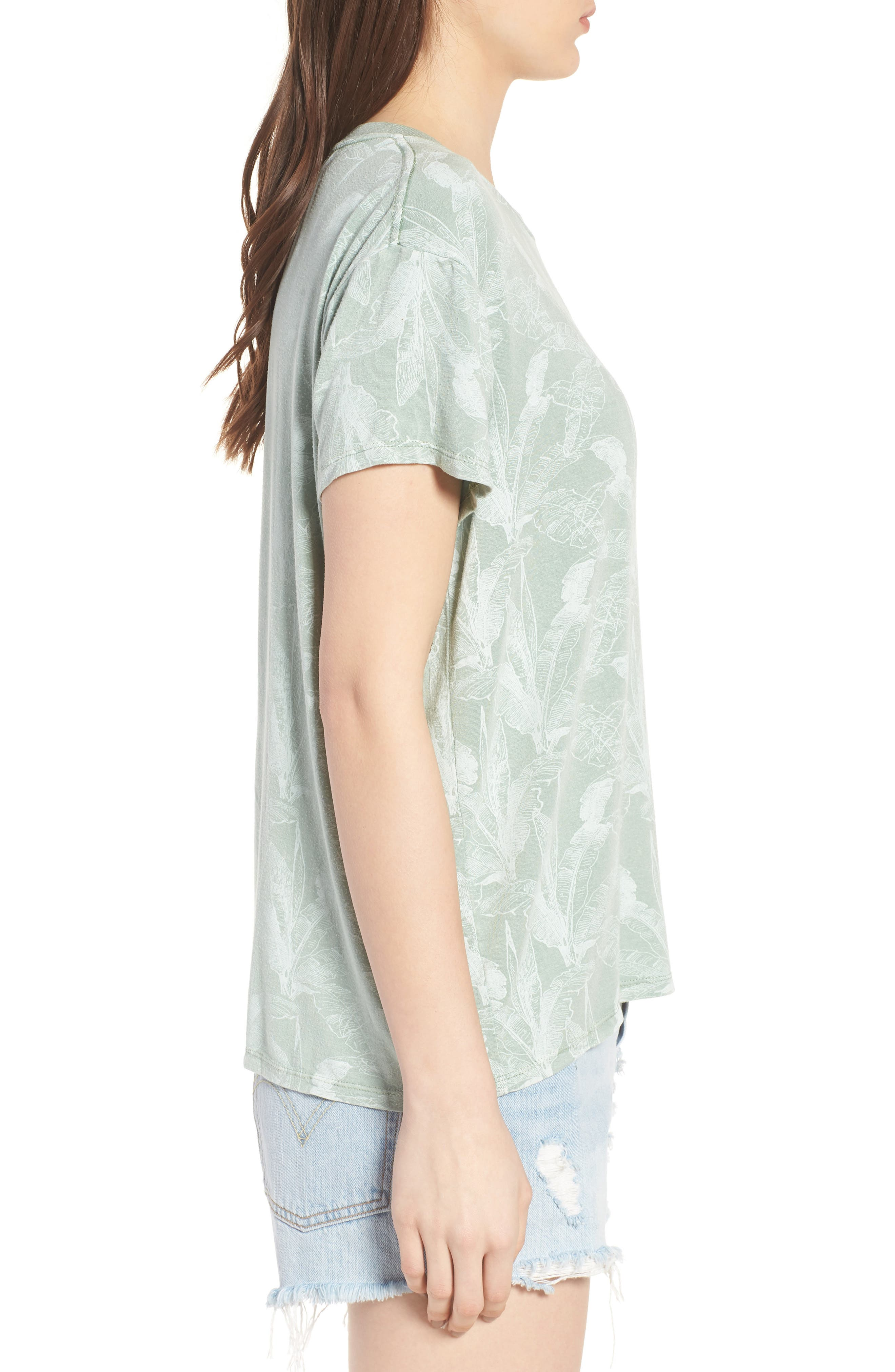 Suspension Print Stretch Modal Tee,                             Alternate thumbnail 3, color,                             382