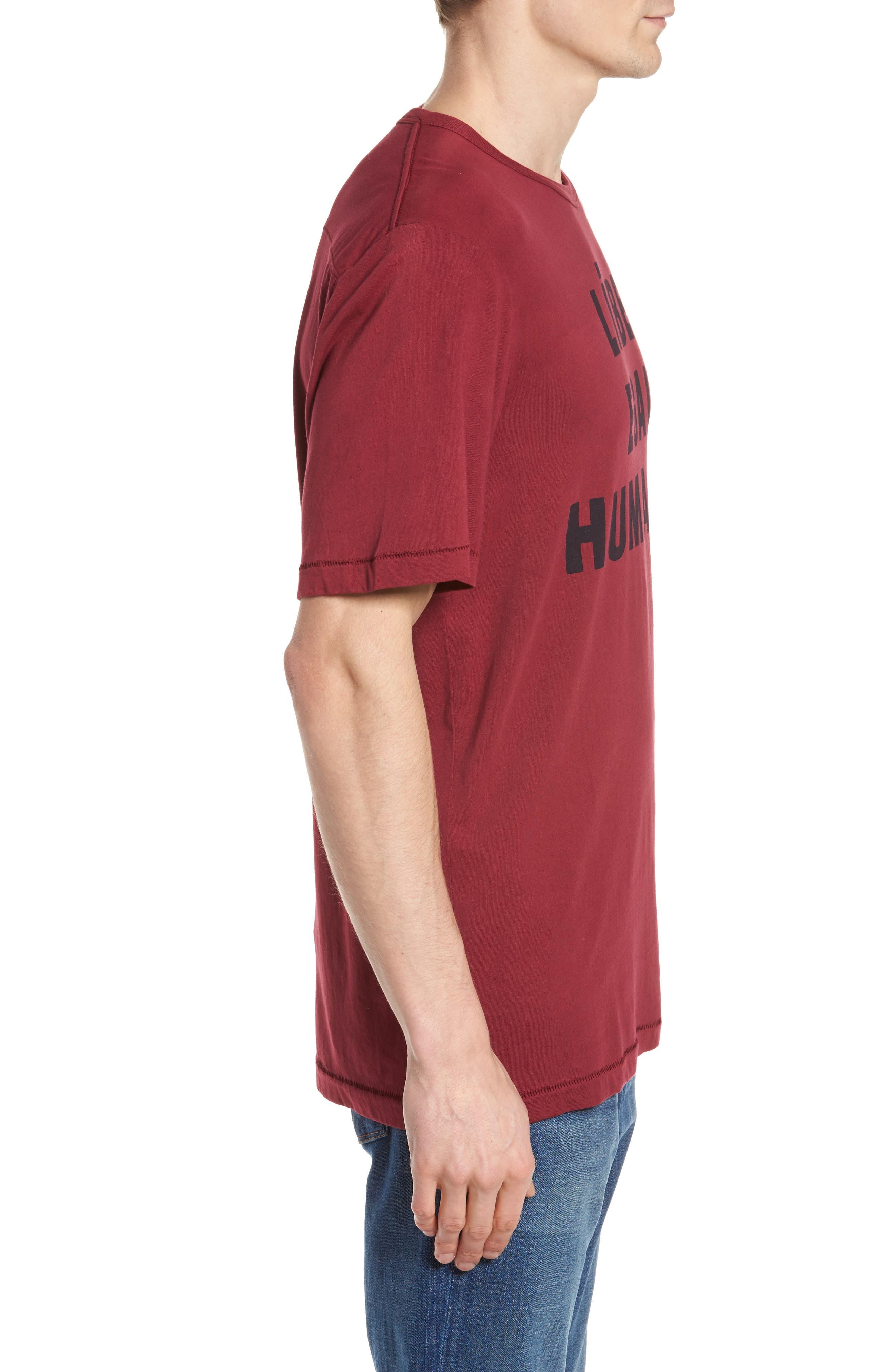 Égalité Regular Fit Graphic T-Shirt,                             Alternate thumbnail 3, color,                             600