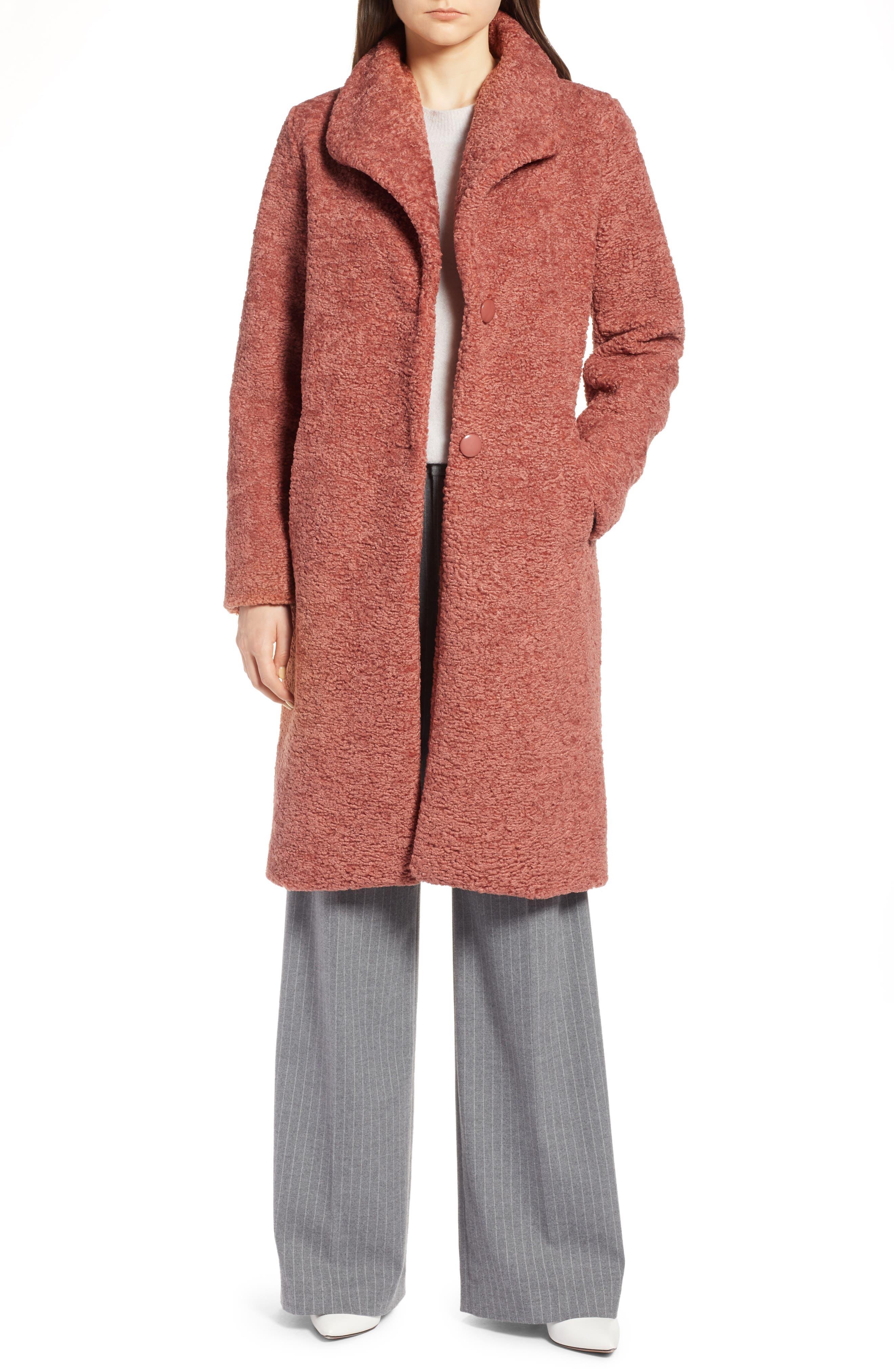 HALOGEN<SUP>®</SUP>,                             Faux Fur Coat,                             Main thumbnail 1, color,                             630