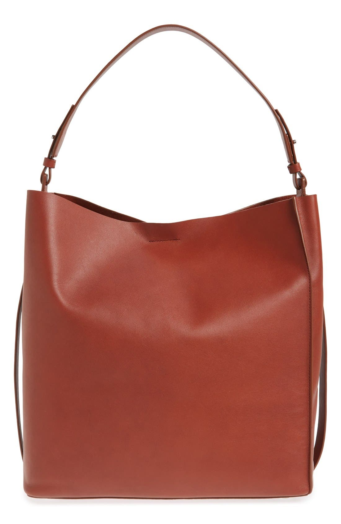 'Paradise North/South' Calfskin Leather Tote,                             Main thumbnail 6, color,