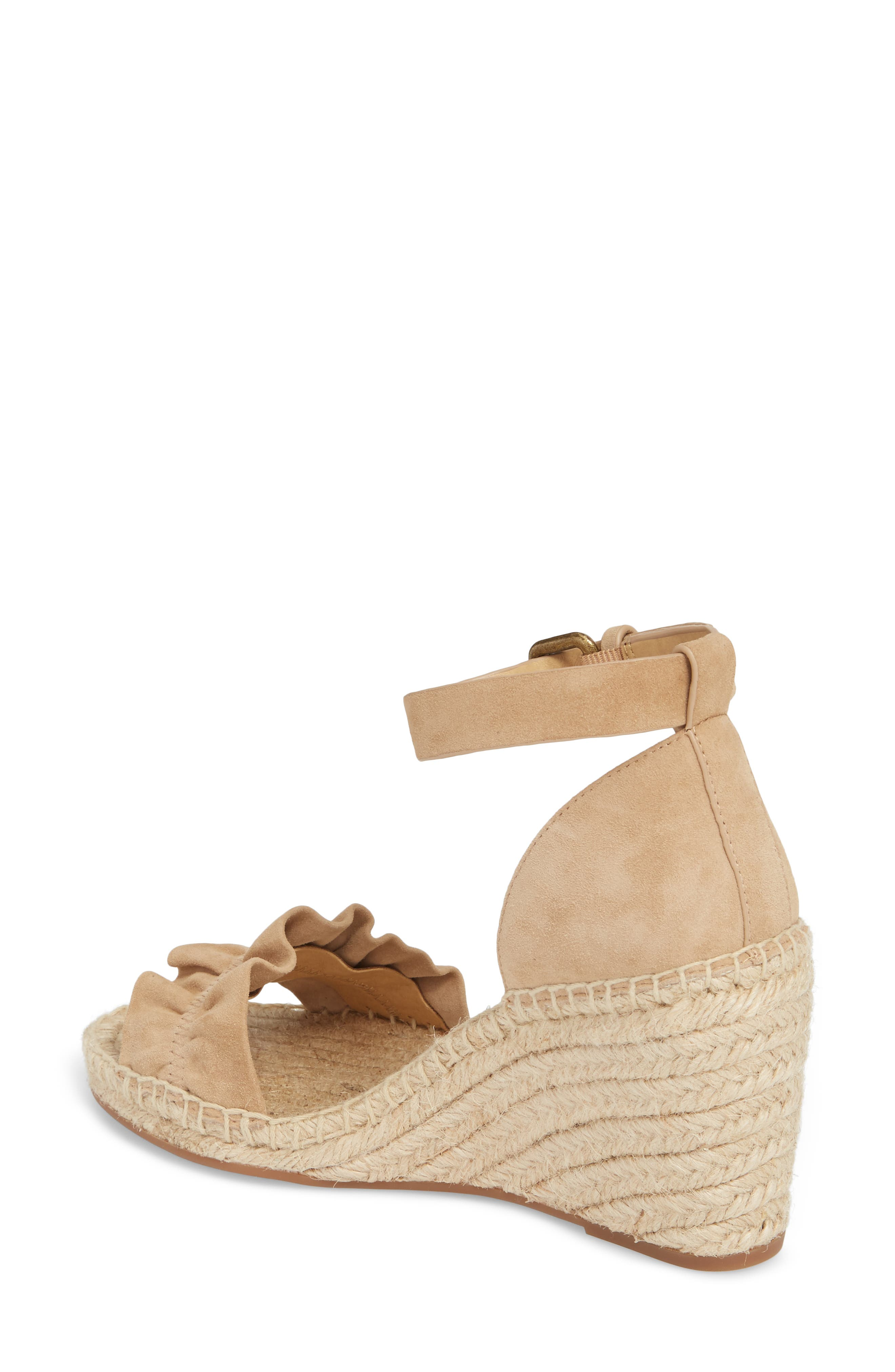 Bedford Espadrille Wedge Sandal,                             Alternate thumbnail 2, color,                             021
