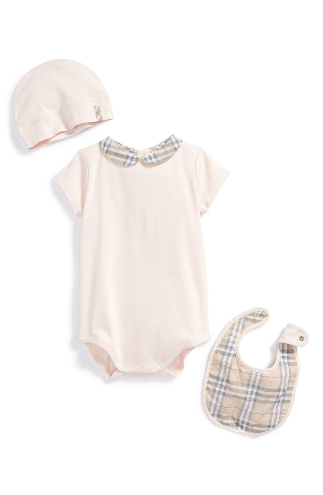 Cotton Three-Piece Baby Gift Set,                             Main thumbnail 1, color,                             681