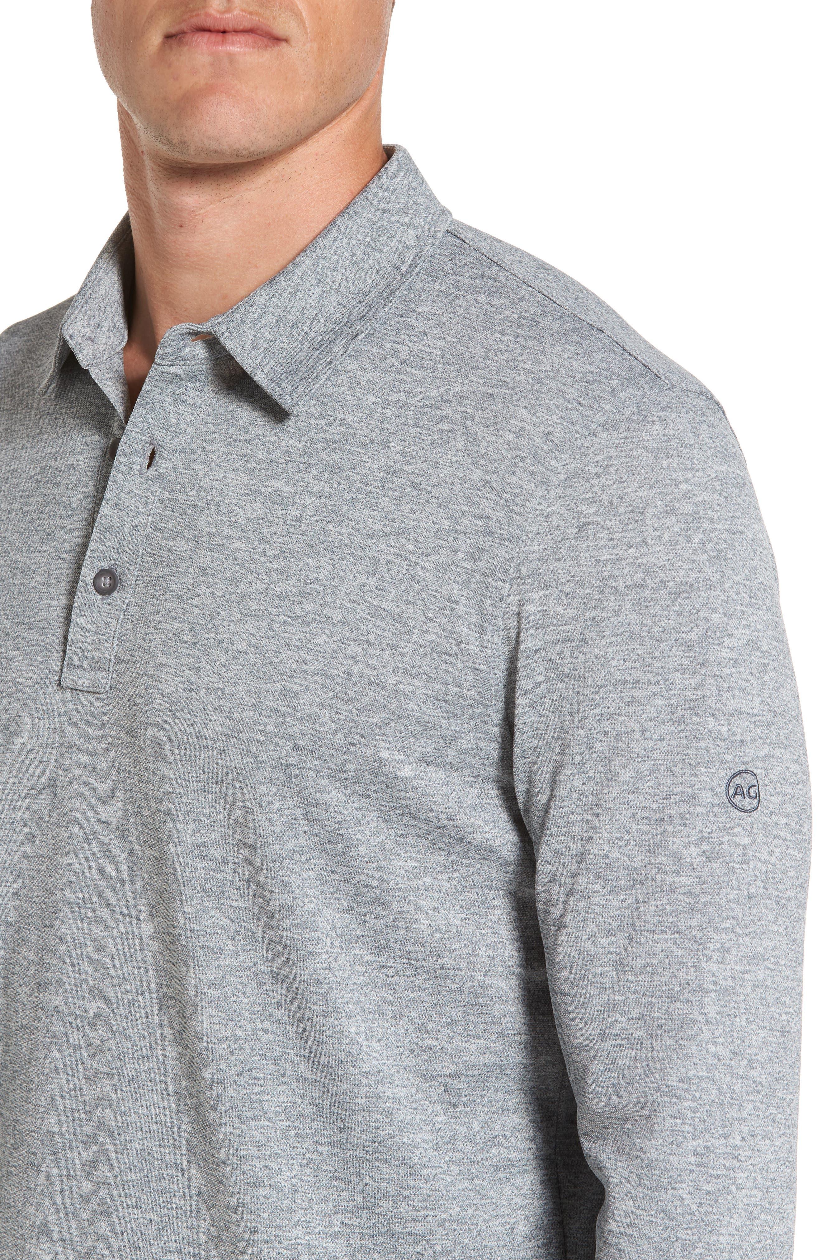 Hamden Long Sleeve Polo,                             Alternate thumbnail 4, color,                             029