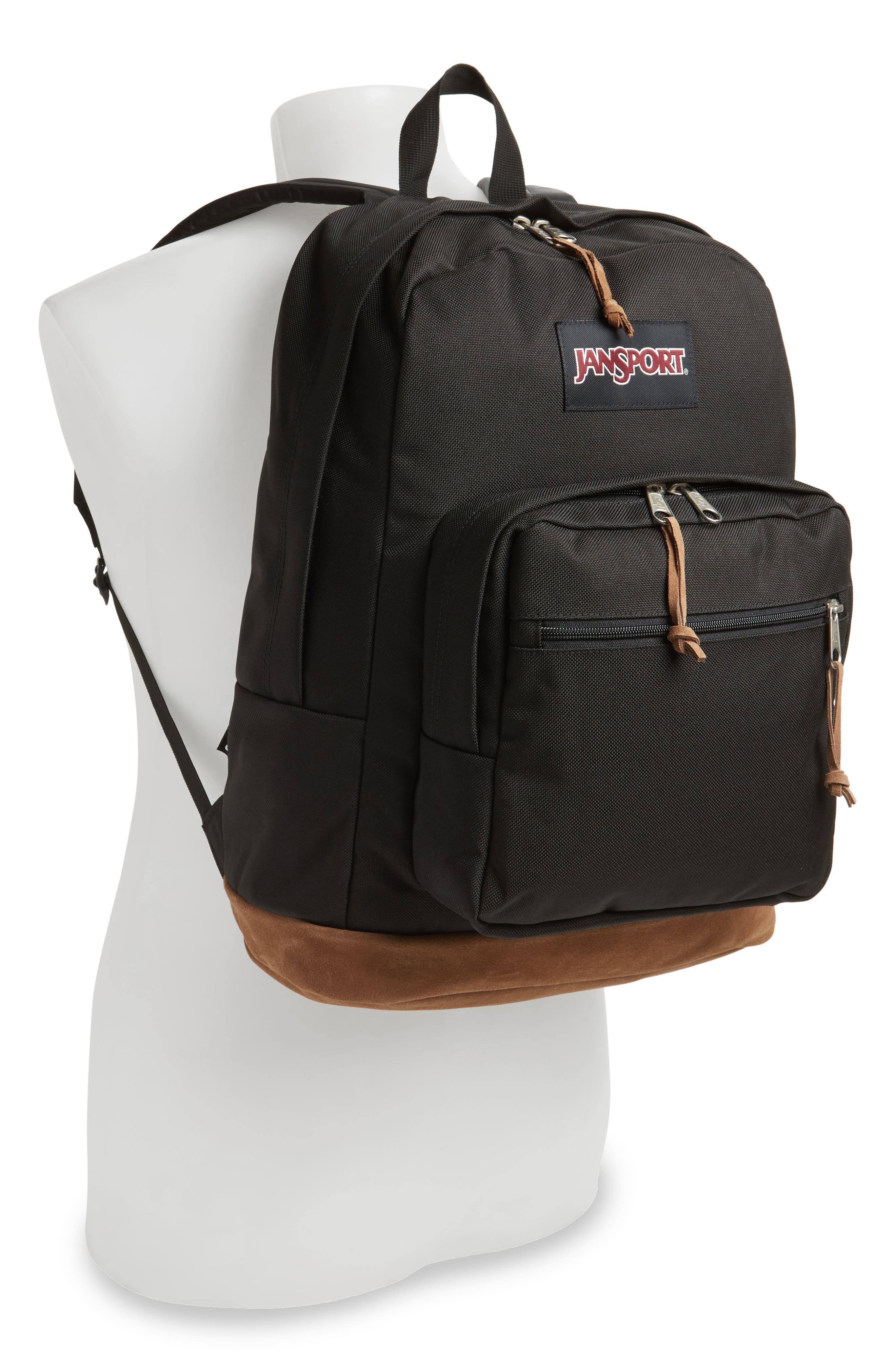 'Right Pack' Backpack,                             Alternate thumbnail 3, color,                             BLACK