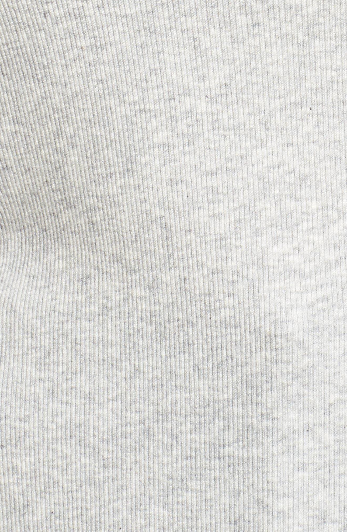 Sleeveless Rib Knit Top,                             Alternate thumbnail 9, color,