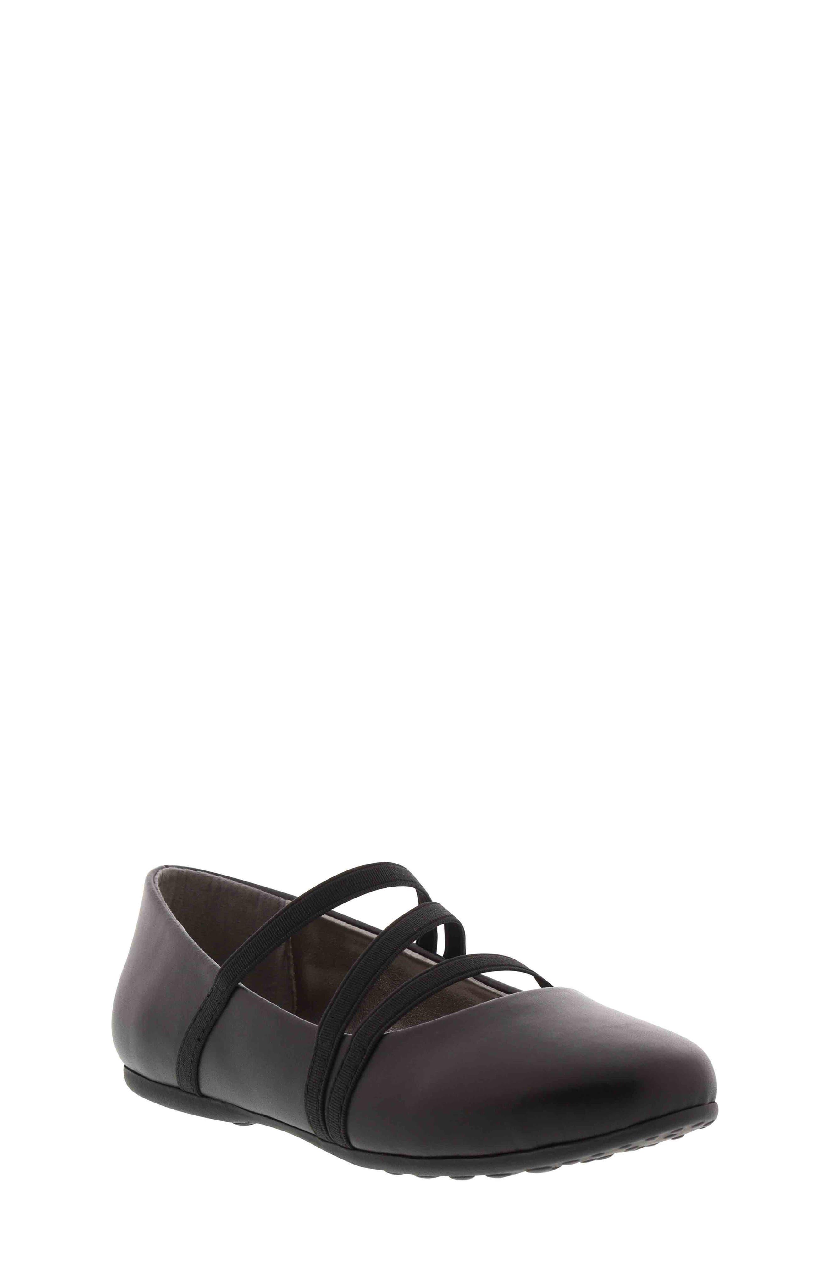 Rose Tilt Ballet Flat, Main, color, BLACK