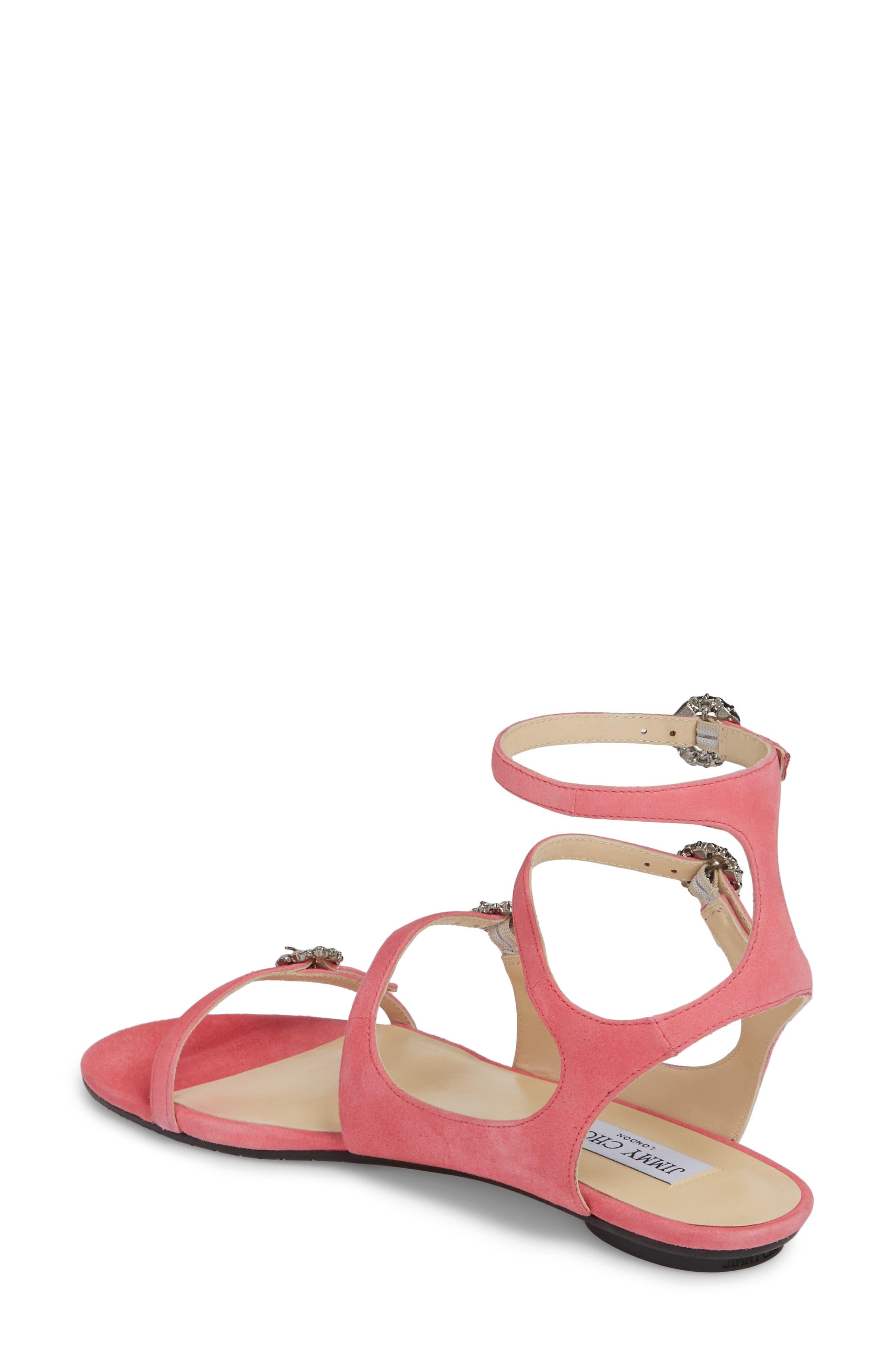 Naia Crystal Buckle Sandal,                             Alternate thumbnail 5, color,