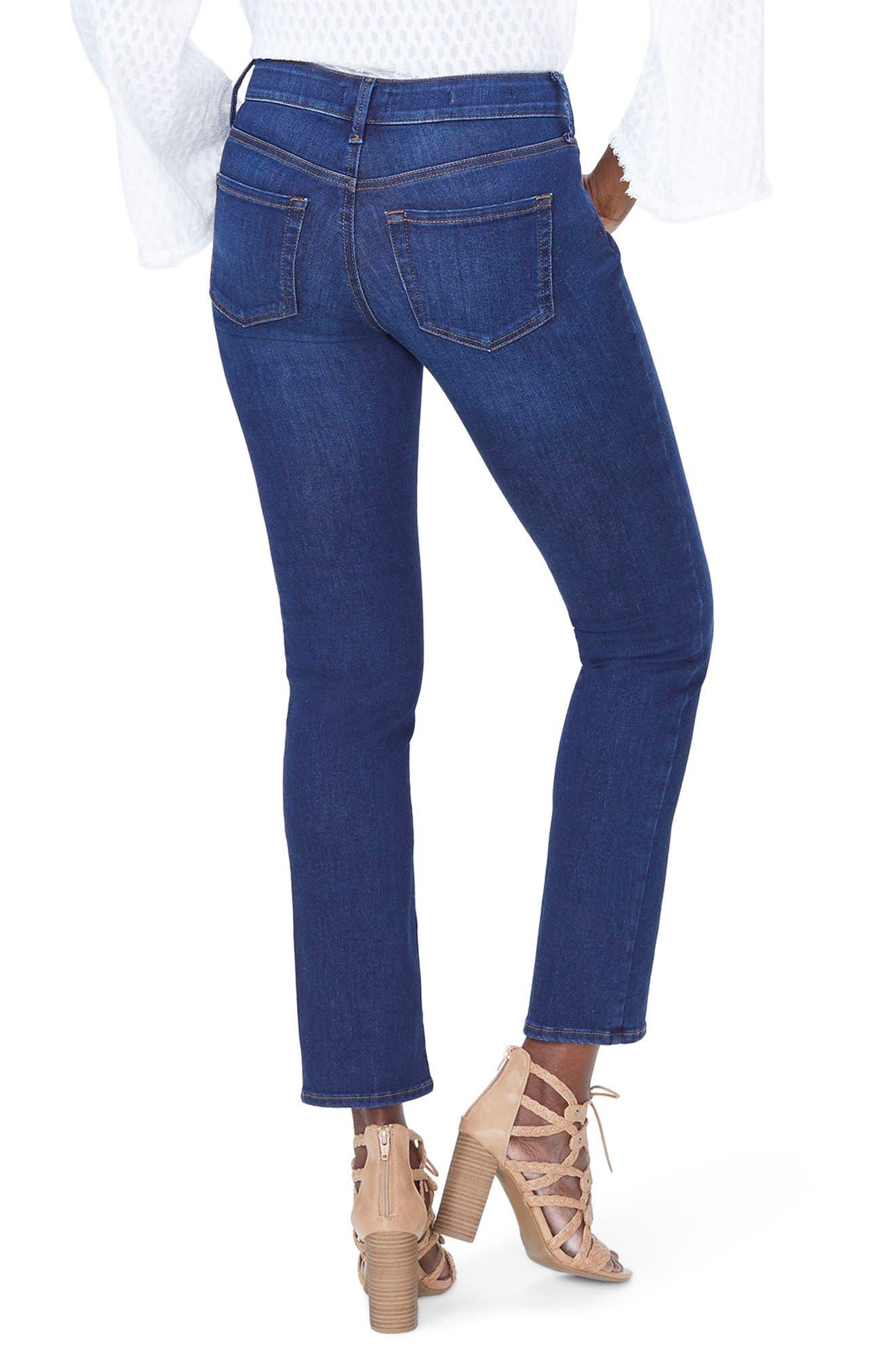 Sheri High Waist Slim Jeans,                             Alternate thumbnail 2, color,                             COOPER