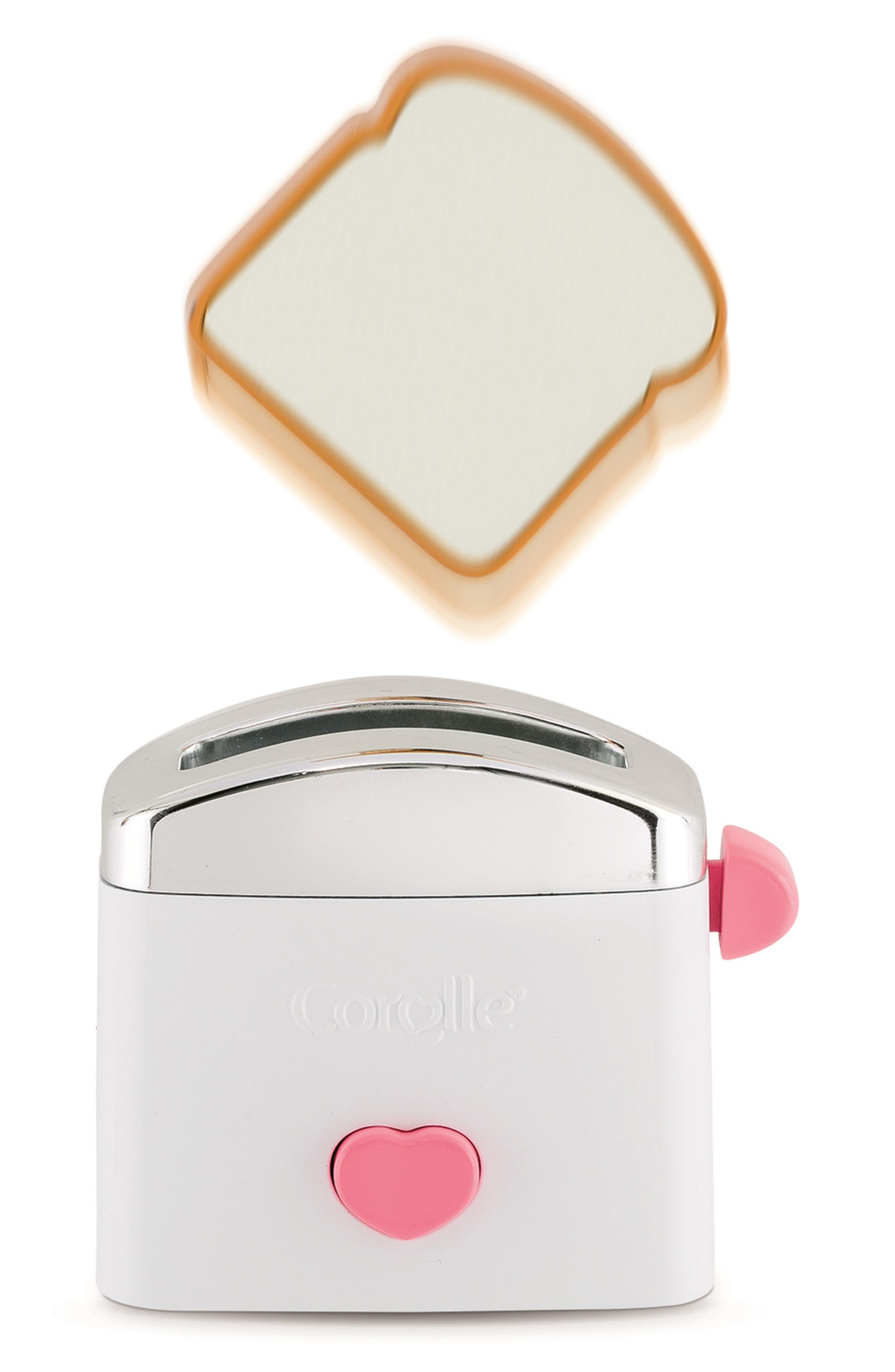 Toy Toaster & Toast Play Set,                             Alternate thumbnail 3, color,                             100