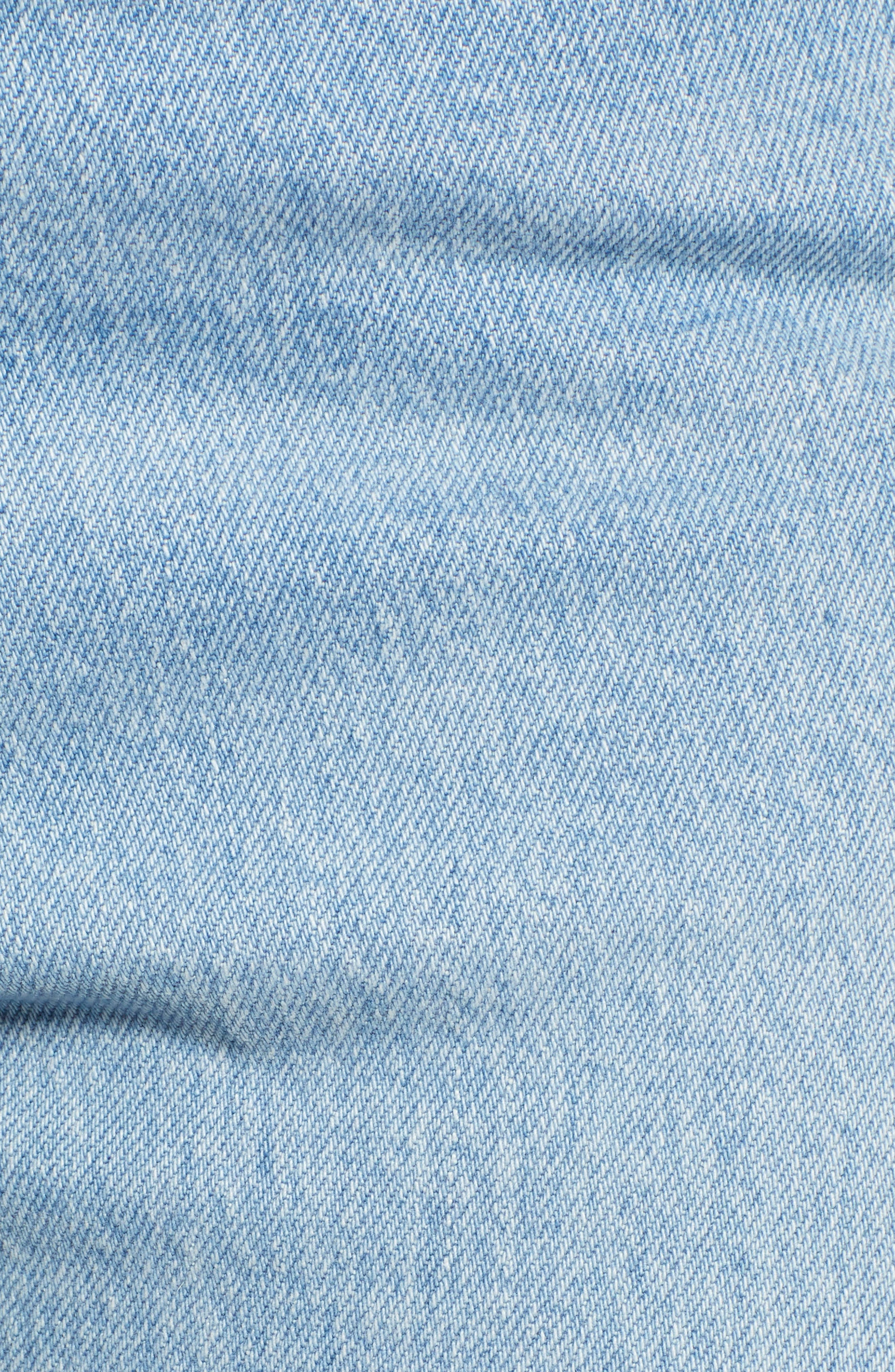 501<sup>®</sup> High Waist Skinny Jeans,                             Alternate thumbnail 6, color,                             SMARTY