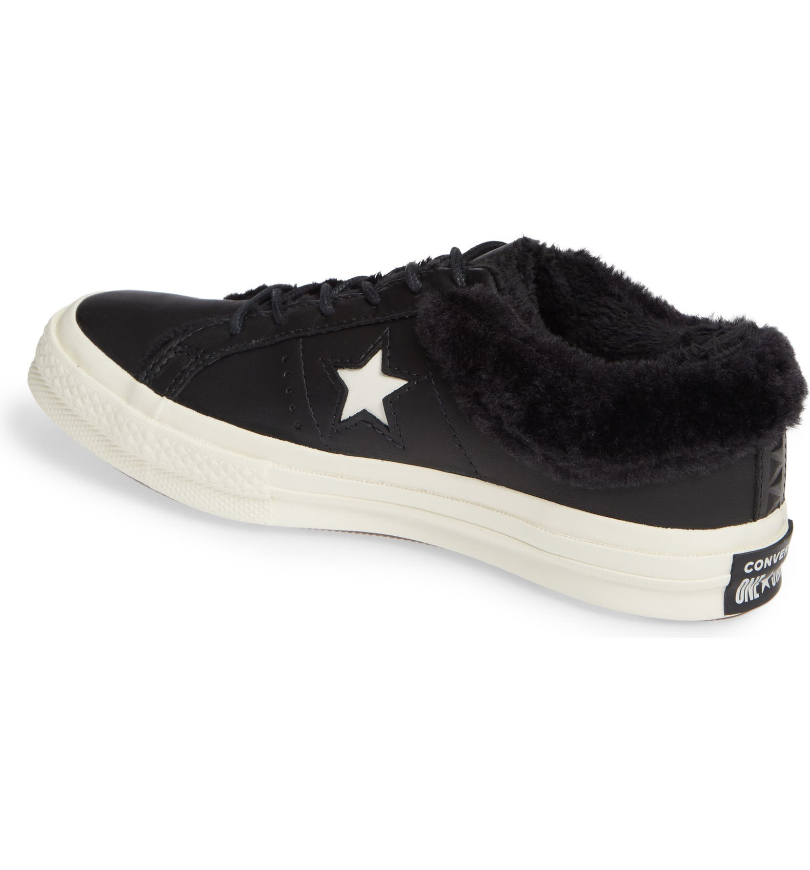 Converse One Star Street Warmer Faux Fur Lined Low Top Sneaker (Women)  96884e6e0