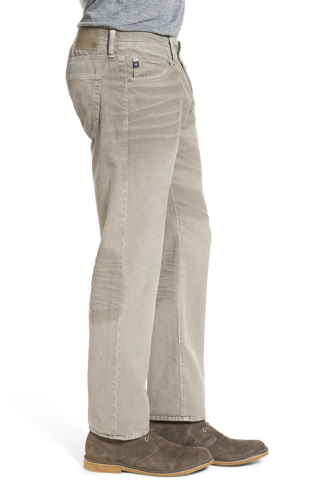 'Graduate' Tailored Straight Leg Corduroy Pants,                             Alternate thumbnail 41, color,