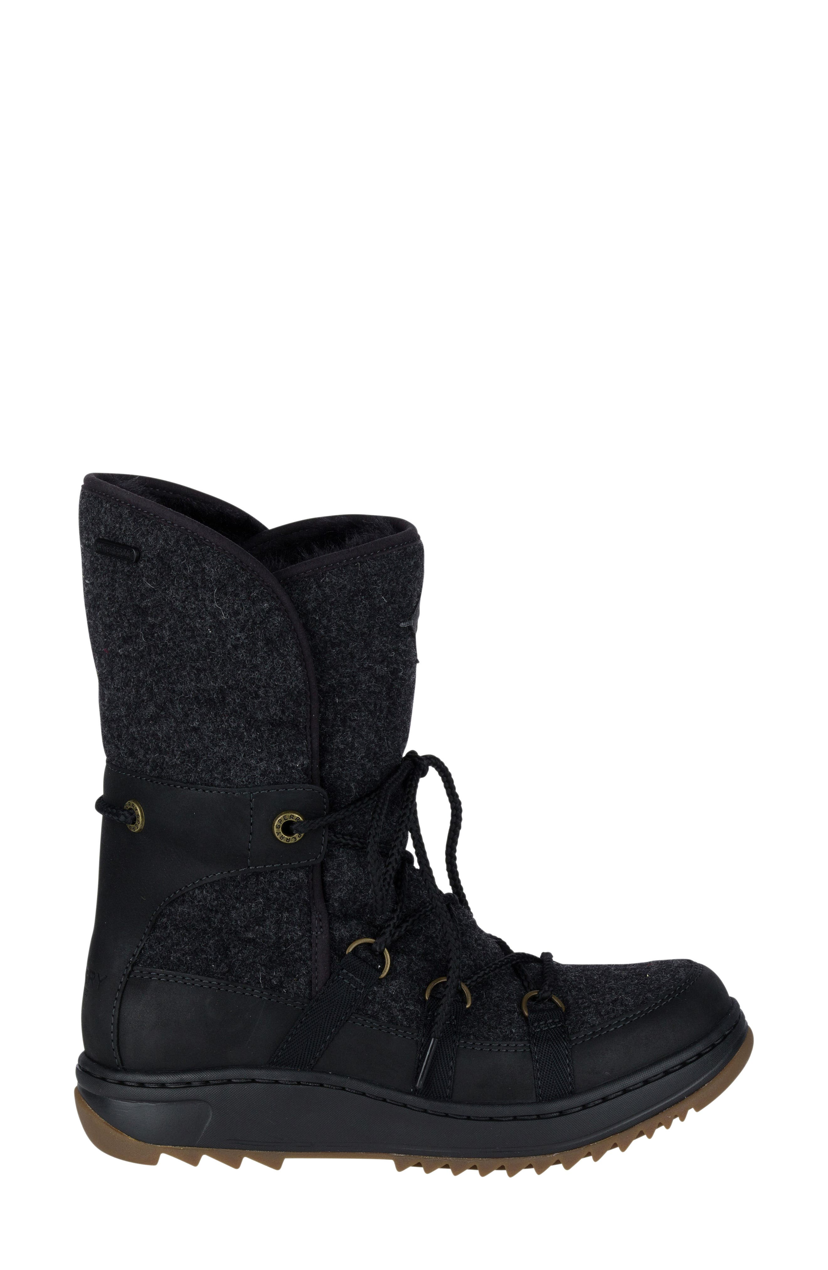 Powder Ice Cap Thinsulate Insulated Water Resistant Boot,                             Alternate thumbnail 3, color,                             001
