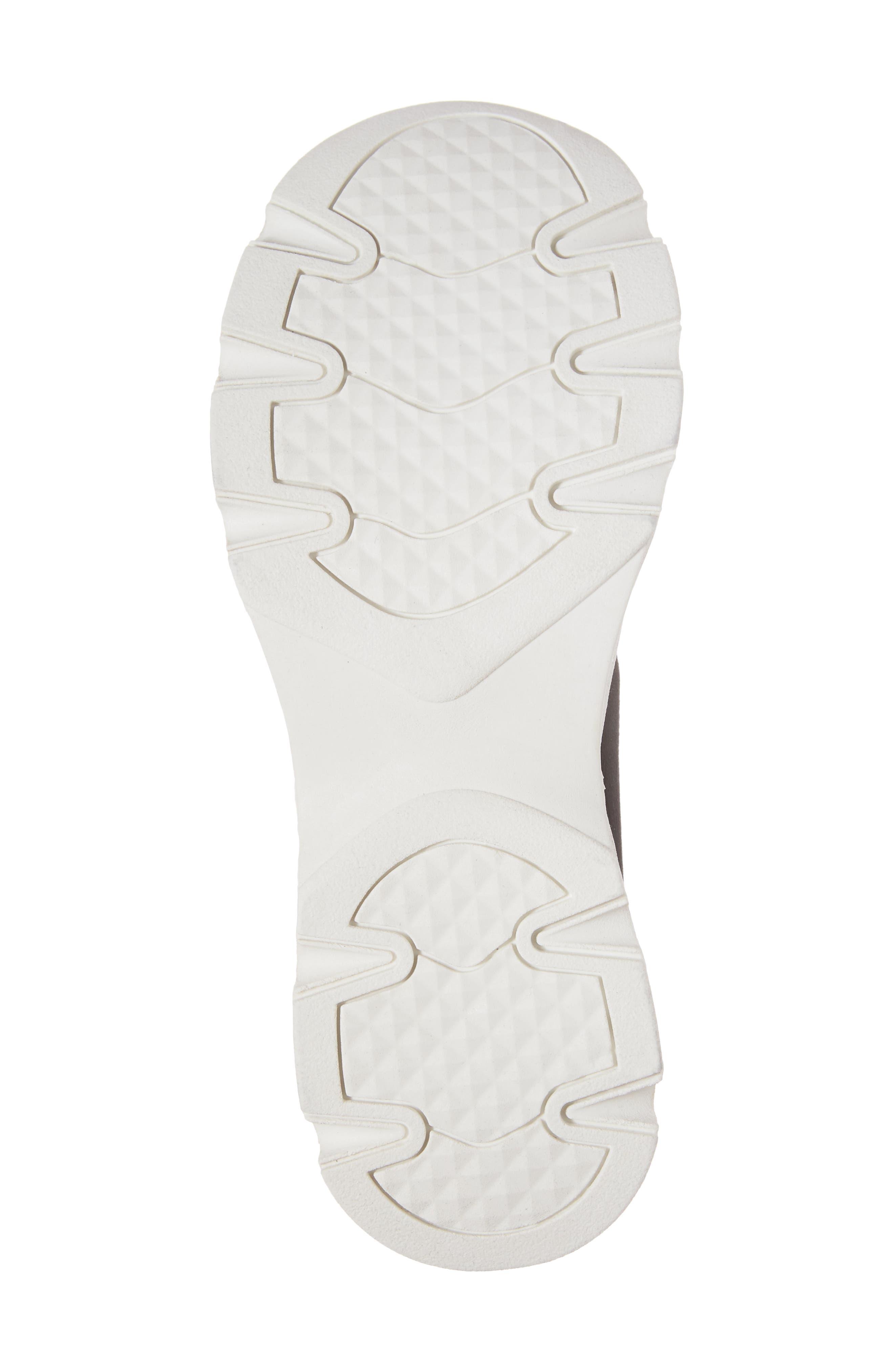 Winston Knit High Top Sneaker,                             Alternate thumbnail 6, color,                             001
