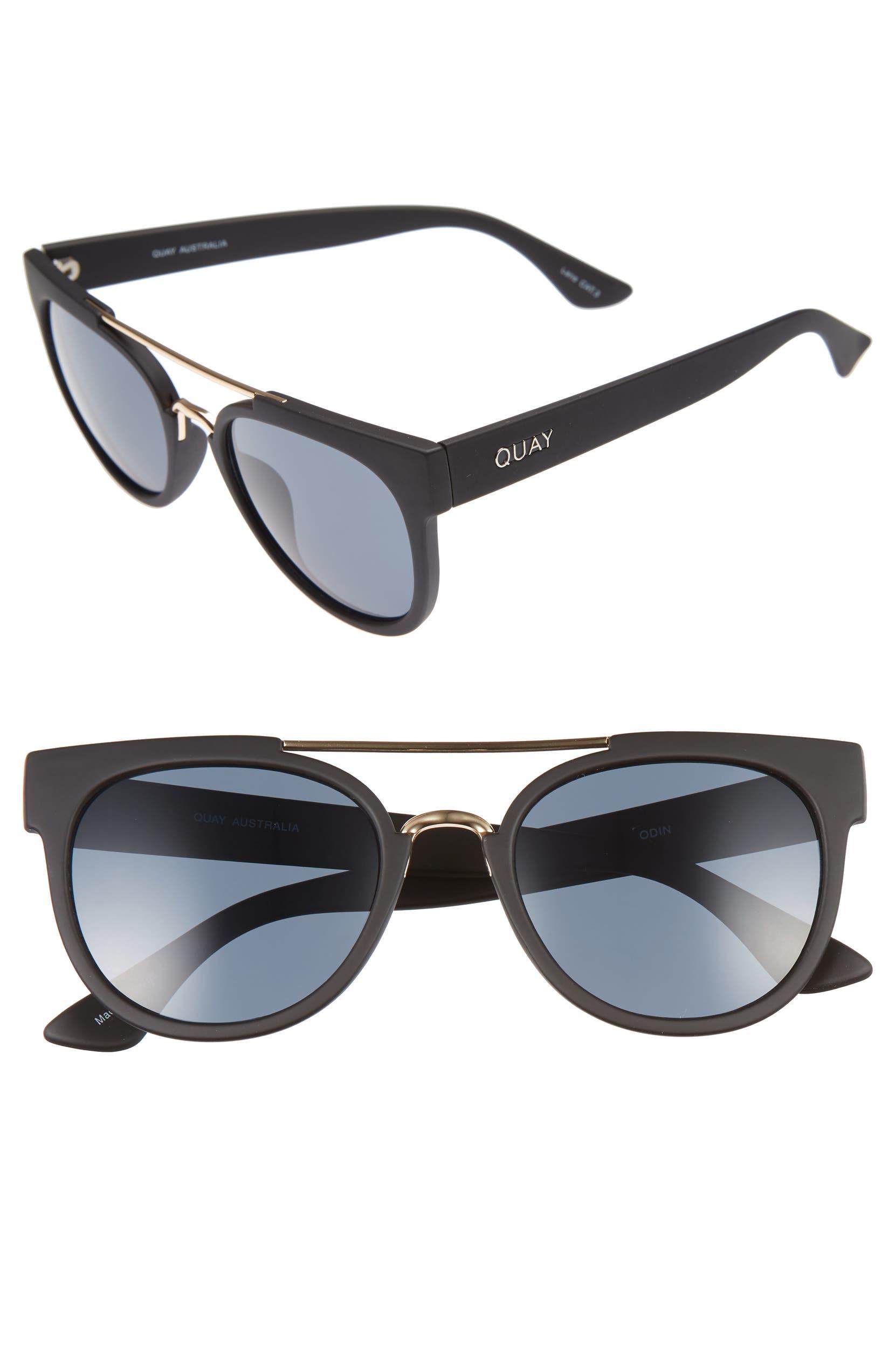 76c52a3d51 Quay Australia Odin 55mm Round Sunglasses