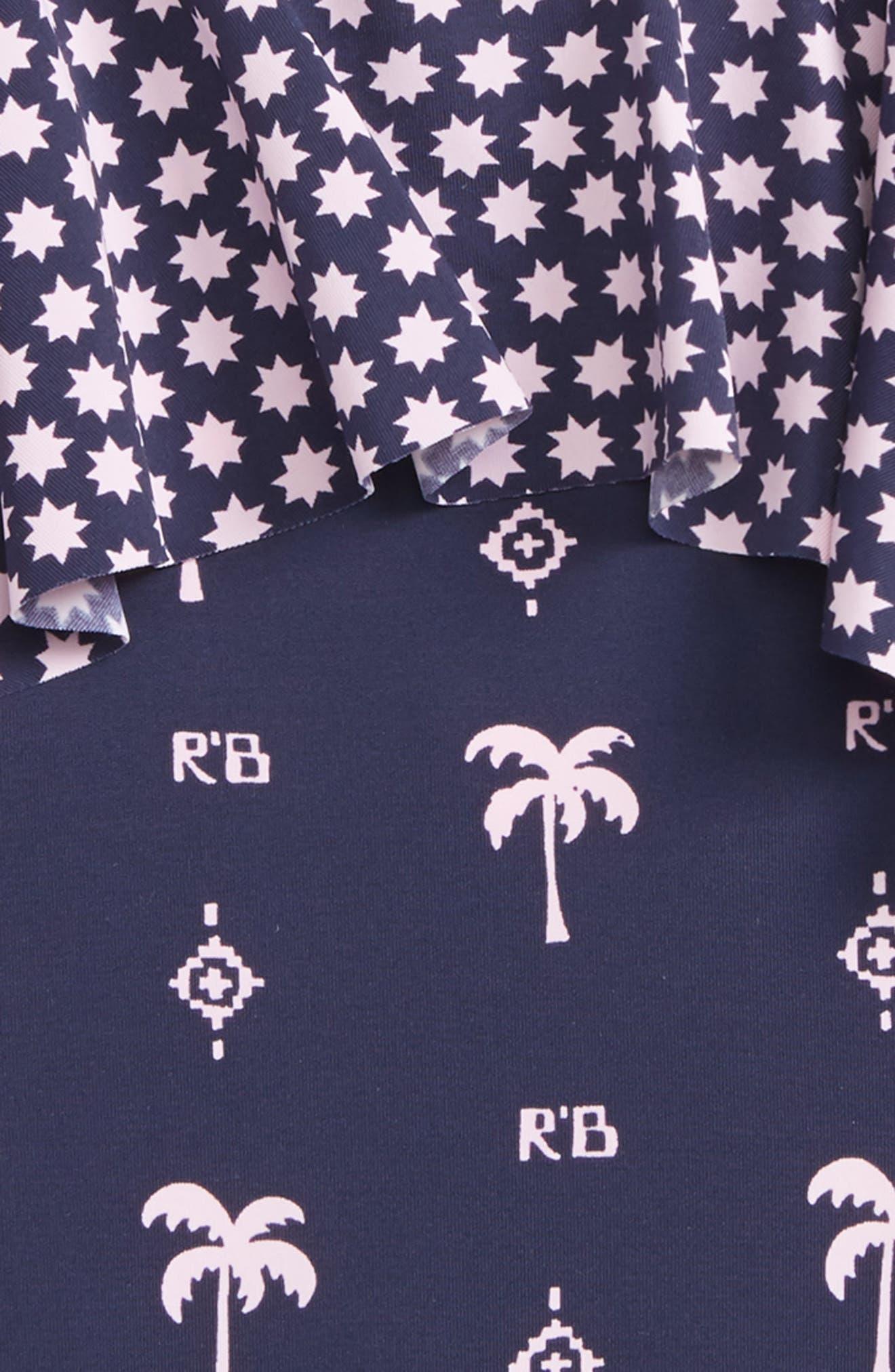 SCOTCH R'BELLE,                             Scoth R'Belle Ruffle One-Piece Swimsuit,                             Alternate thumbnail 2, color,                             400