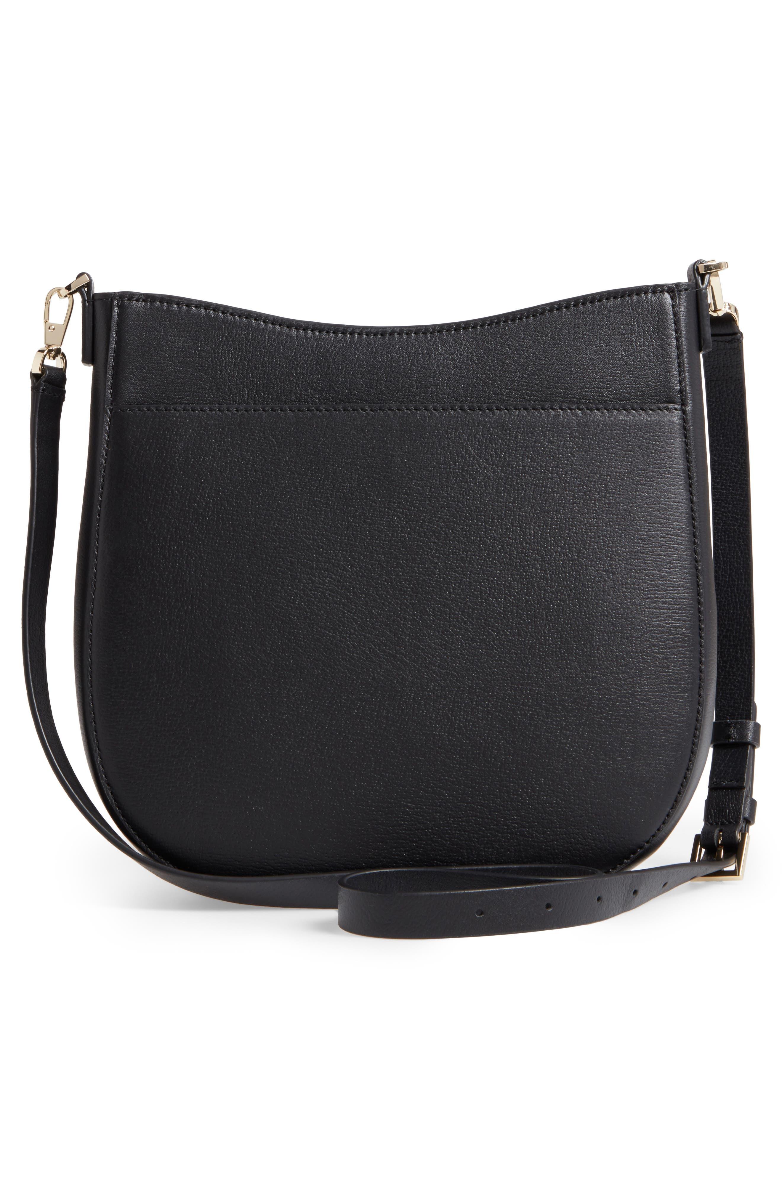 olive drive - robin leather crossbody bag,                             Alternate thumbnail 5, color,
