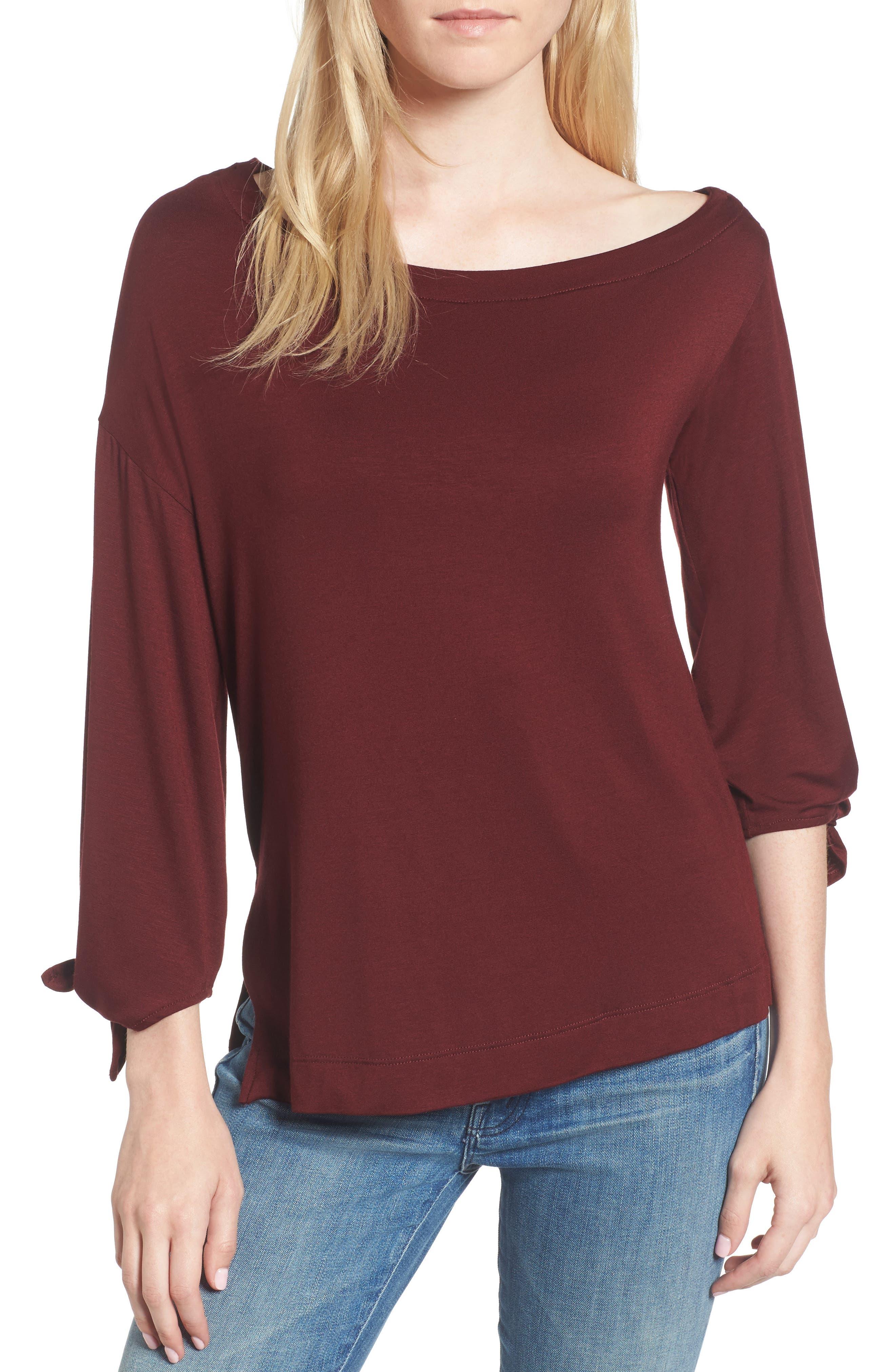 Bella One-Shoulder Top,                         Main,                         color, 409