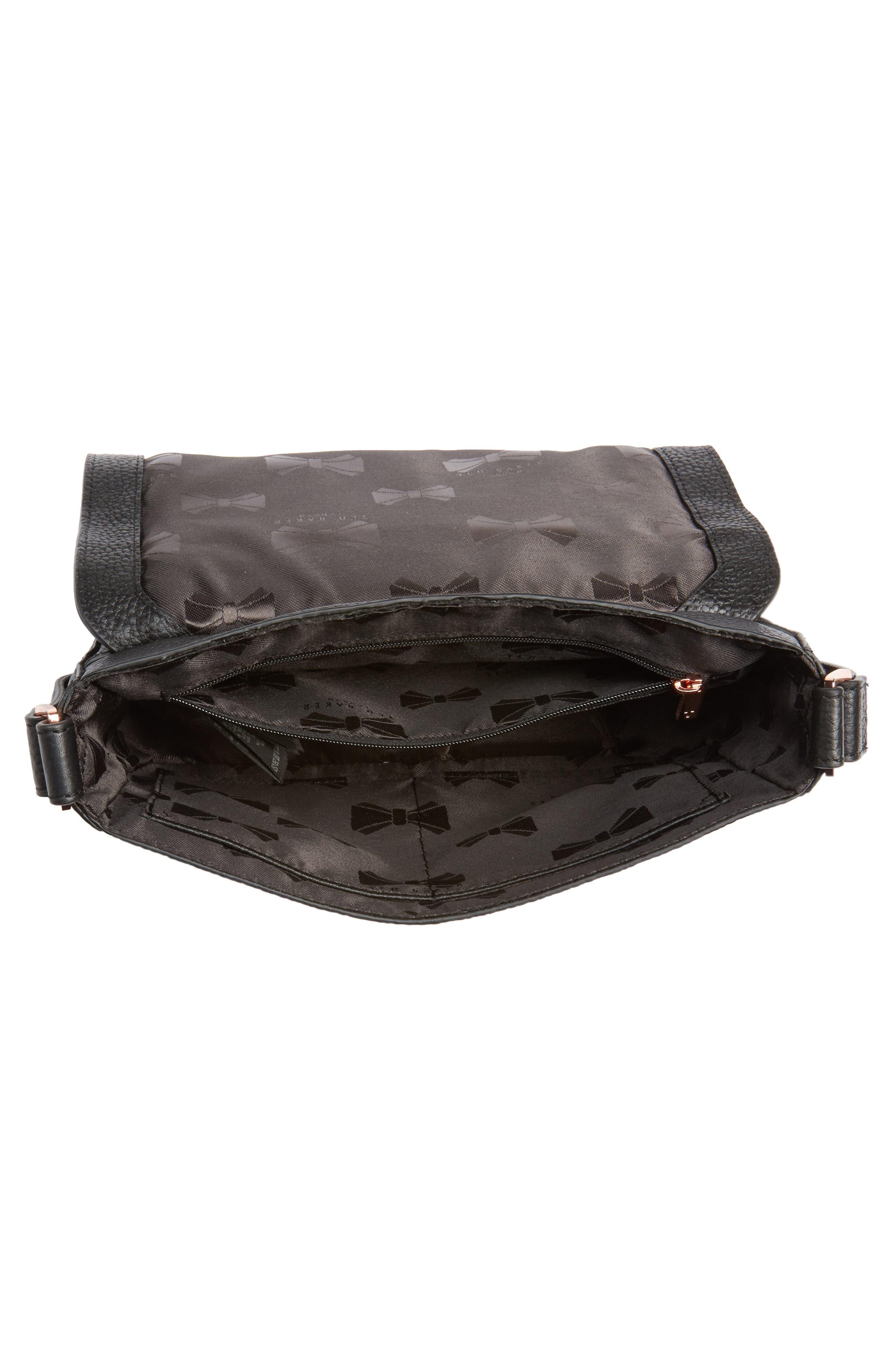Tippi Leather Crossbody Bag,                             Alternate thumbnail 10, color,