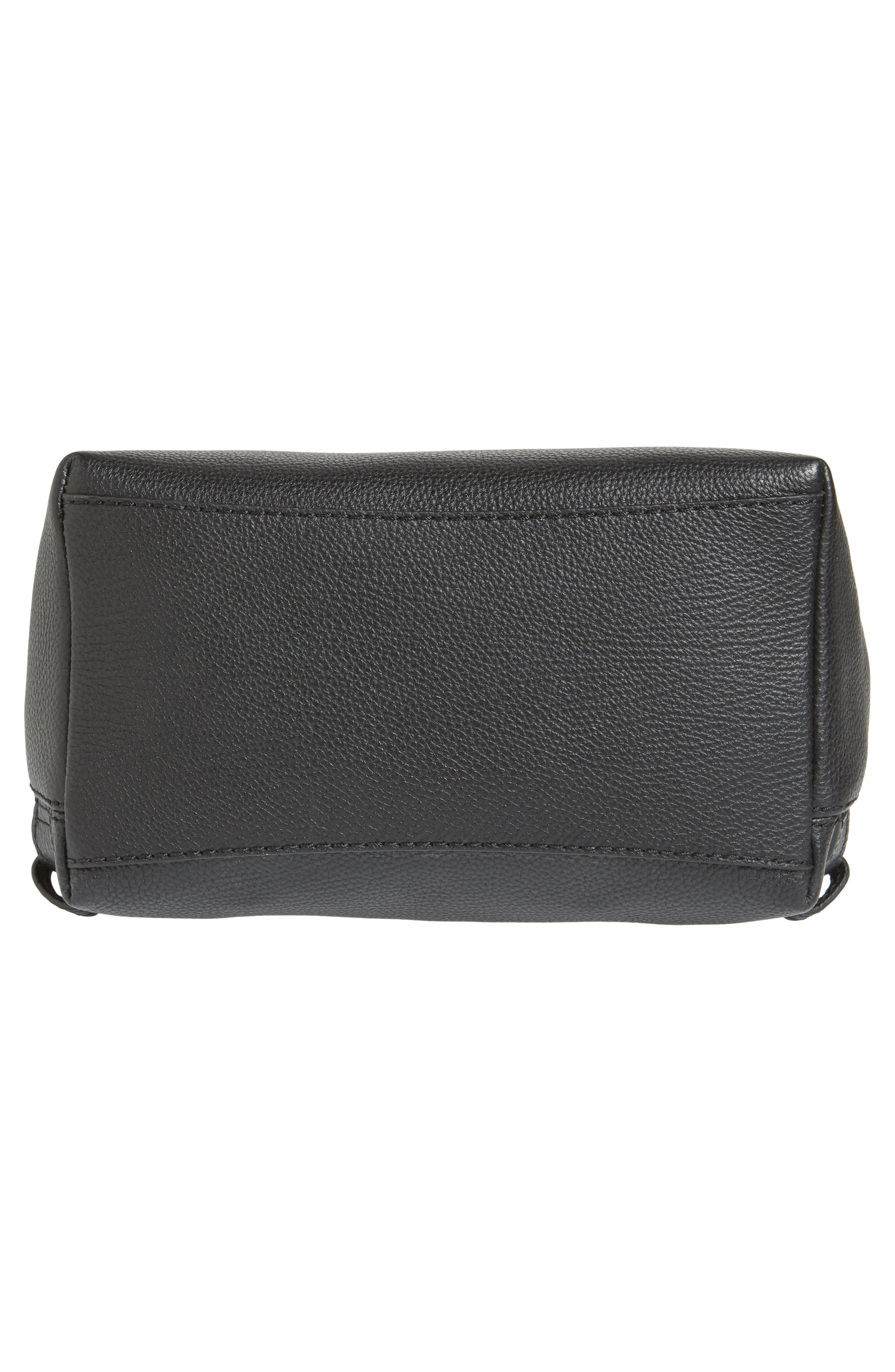 kingston drive - simona leather backpack,                             Alternate thumbnail 6, color,                             001