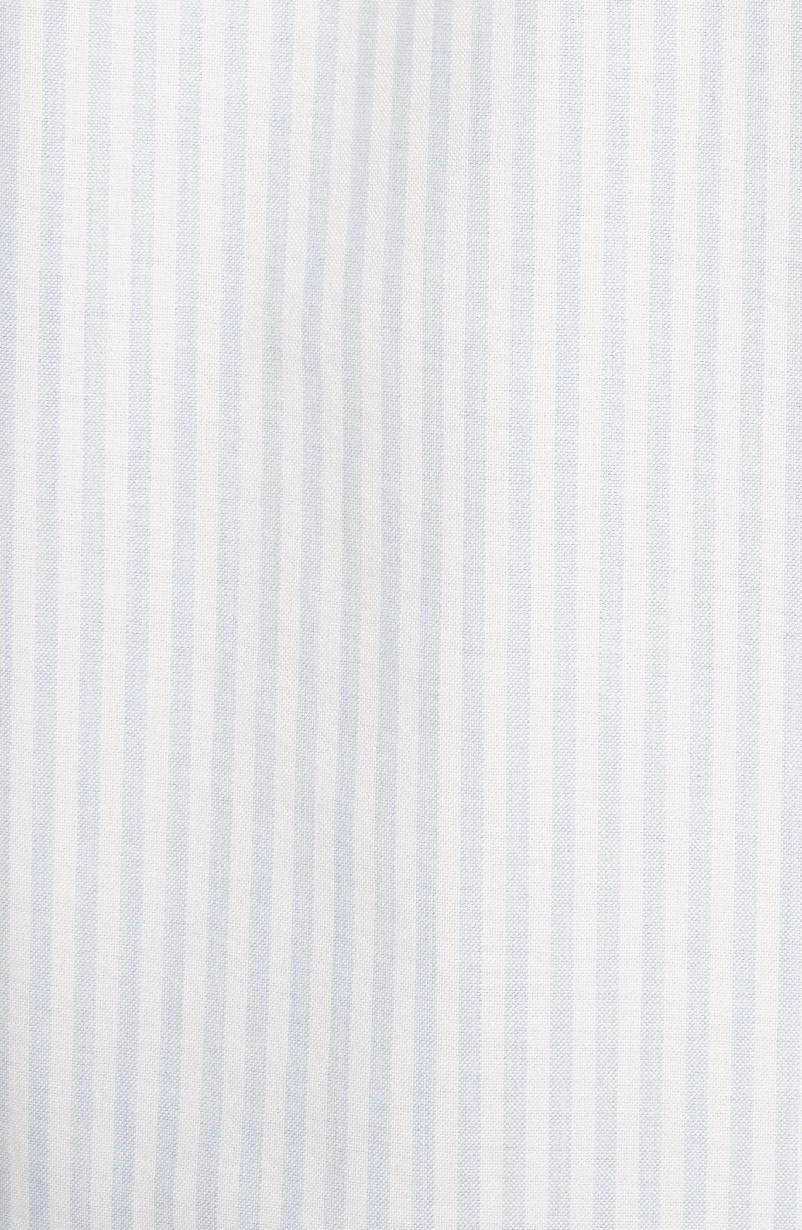 Oliver Stripe Oxford Shirt,                             Alternate thumbnail 5, color,                             430