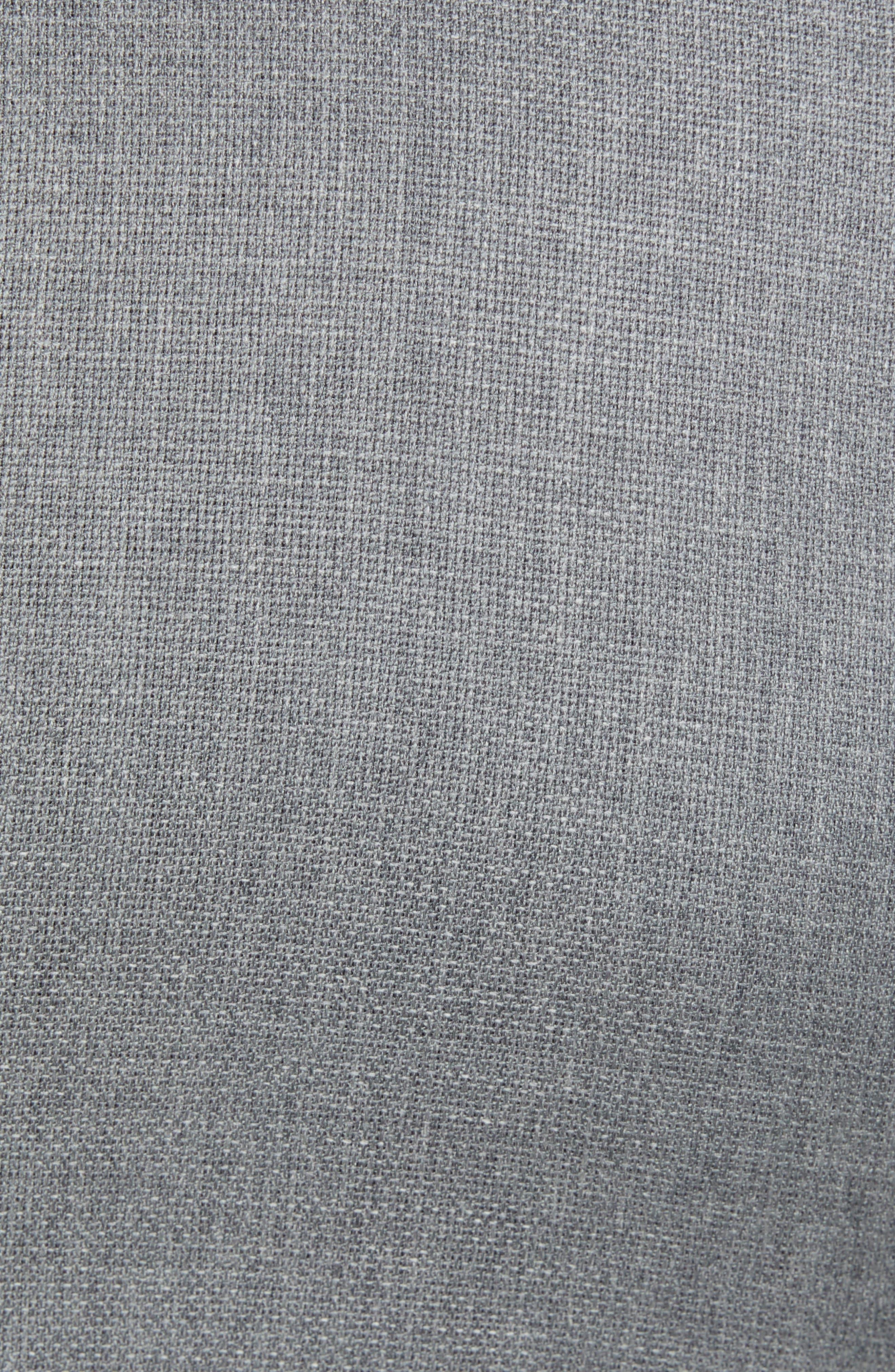 Trim Fit Wool Suit,                             Alternate thumbnail 7, color,                             LIGHT GREY