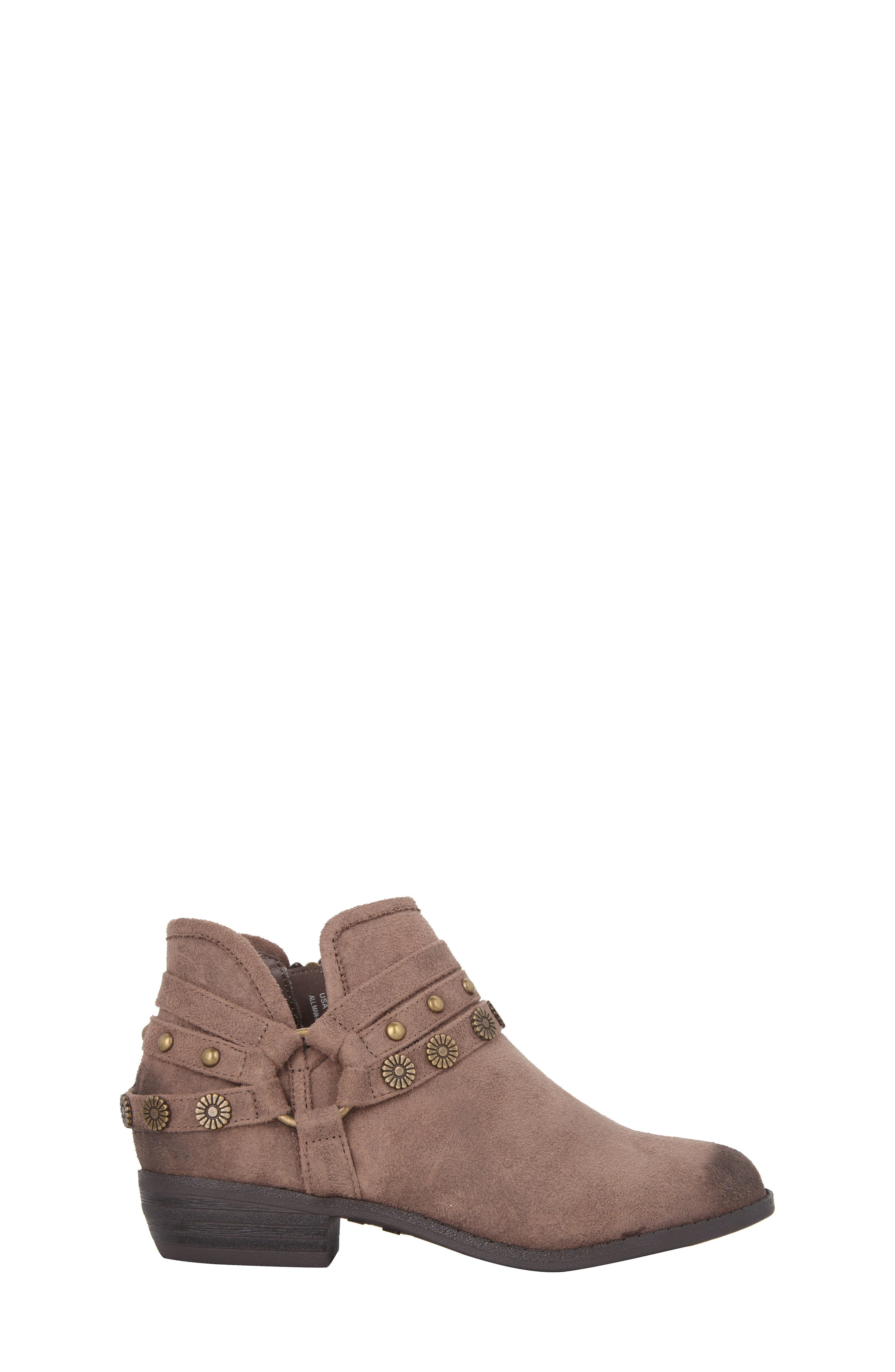 Zoe Strappy Low Bootie,                             Alternate thumbnail 6, color,